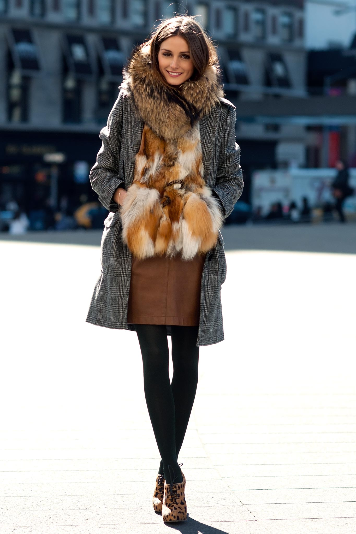 Olivia Palermo at New York Fashion Week Fall/Winter 2011