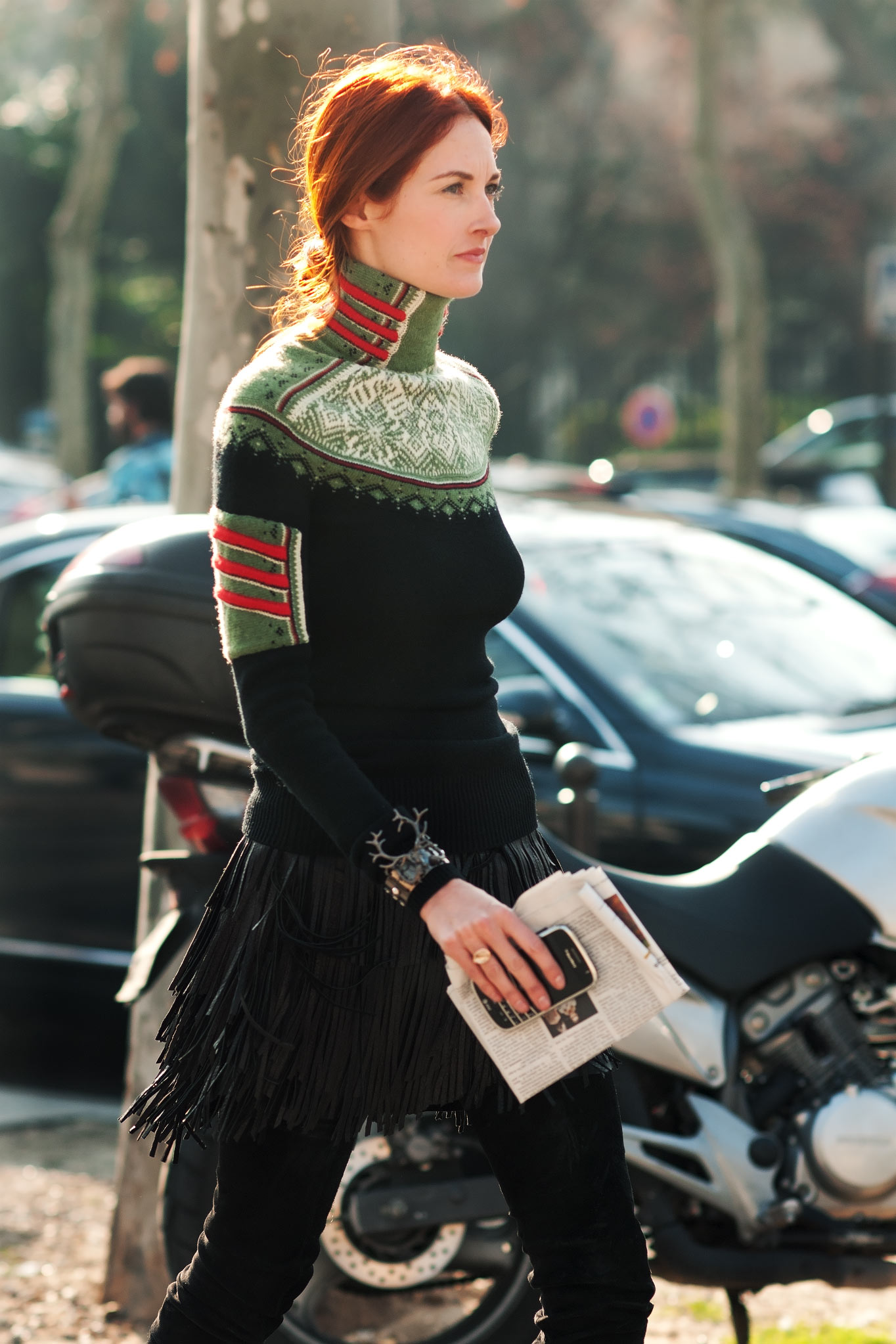 Taylor Tomasi Hill at Paris Fashion Week Fall/Winter 2011