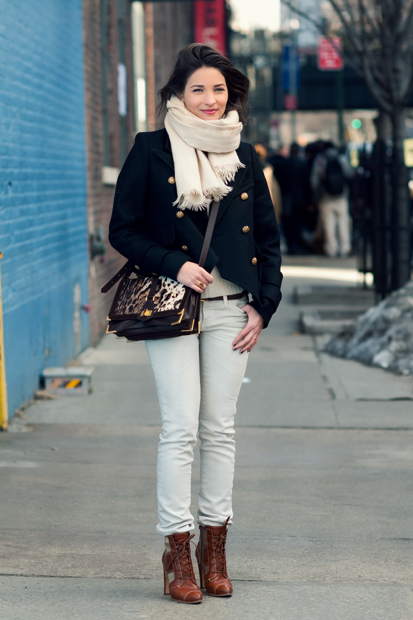 Maria Dueñas Jacobs at New York Fashion Week Fall/Winter 2011