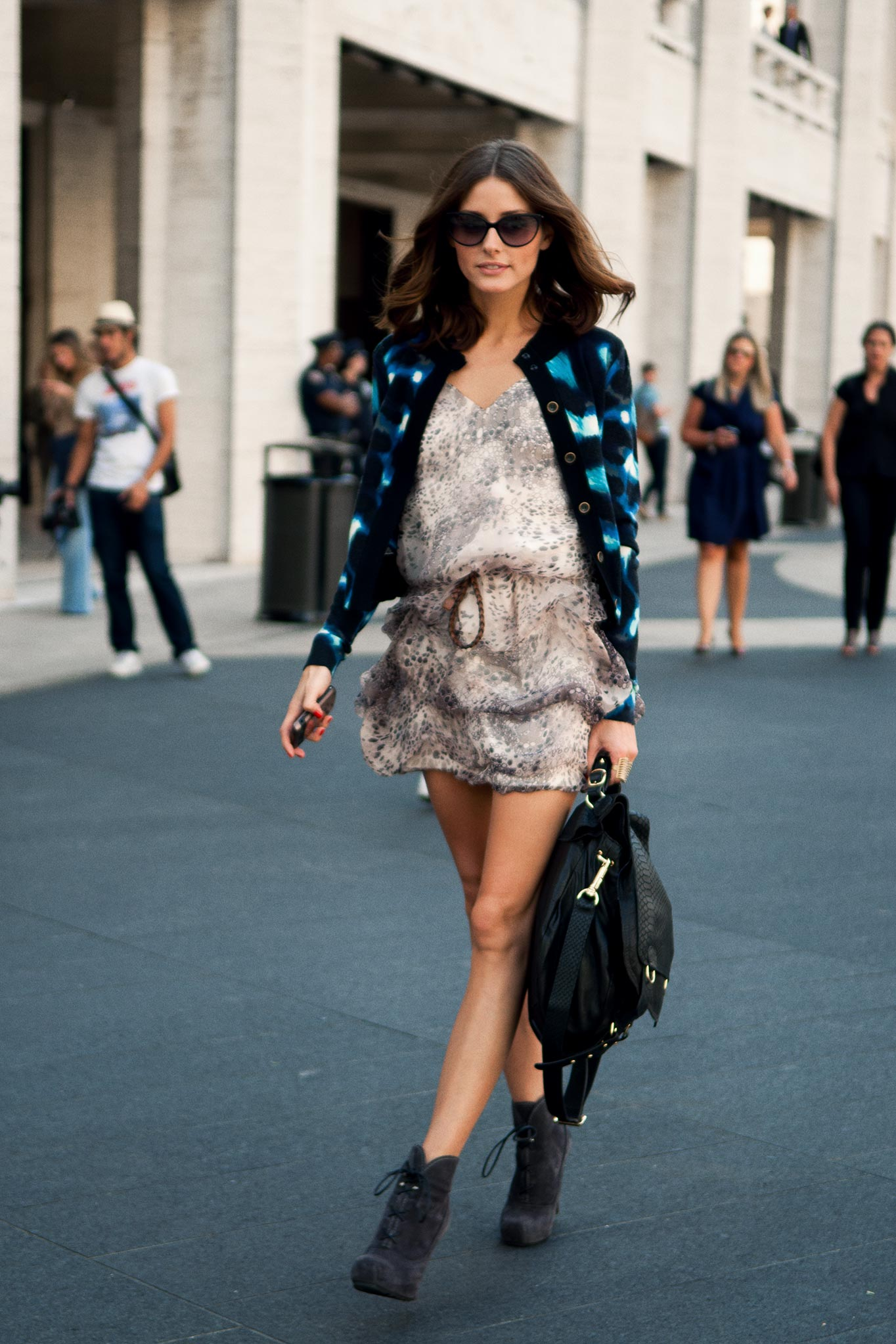 Olivia Palermo at New York Fashion Week Spring/Summer 2011