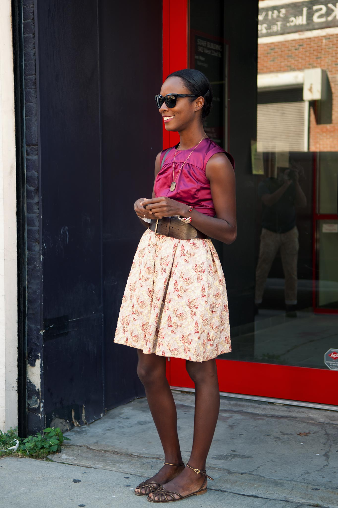 Shala Monroe at New York Fashion Week Spring/Summer 2011