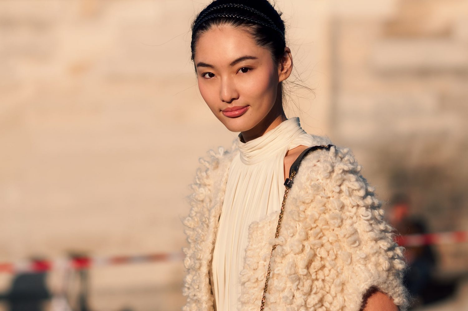 Bonnie Chen at Paris Fashion Week Fall/Winter 2011