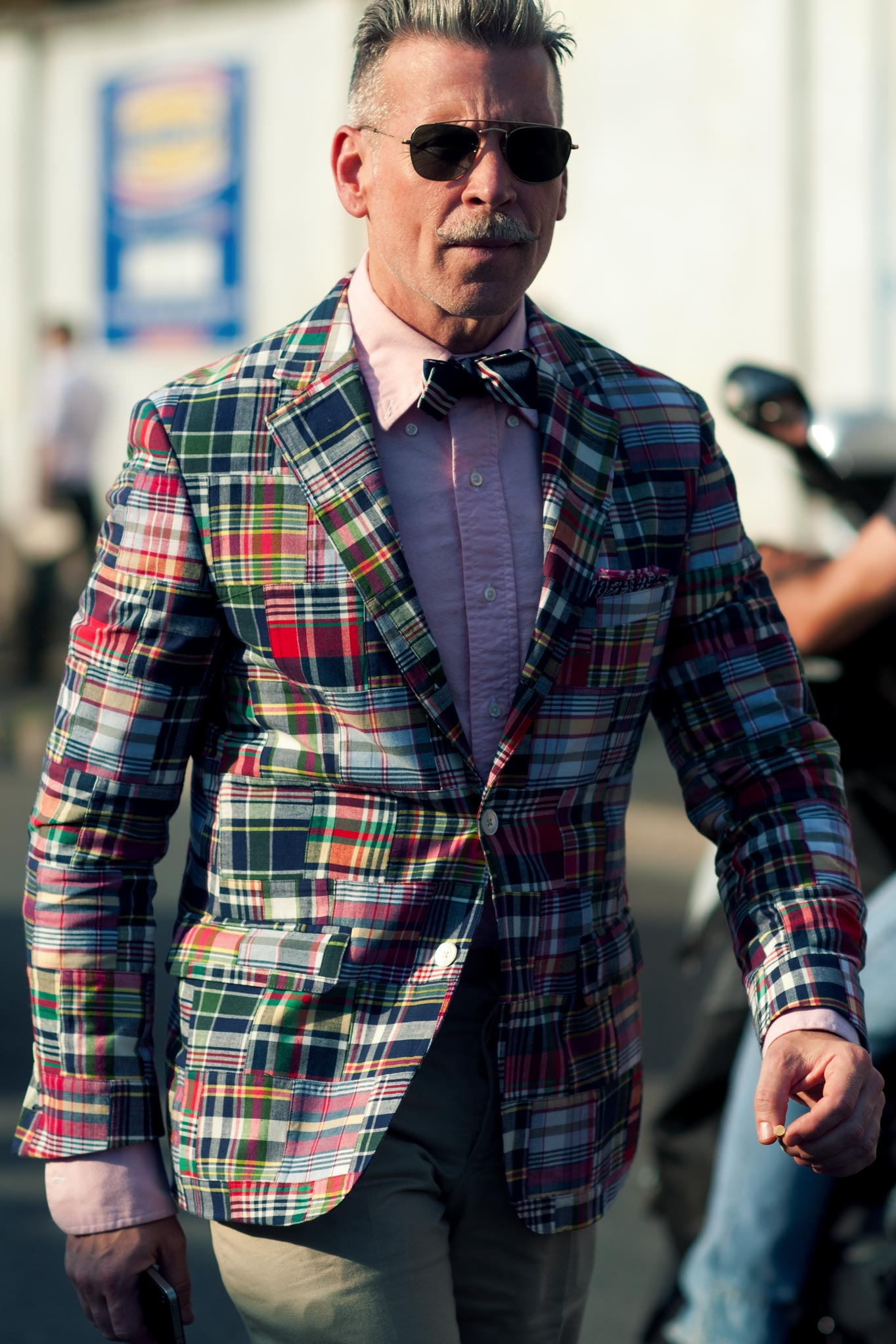 Nickelson Wooster at Milan Men's Fashion Week