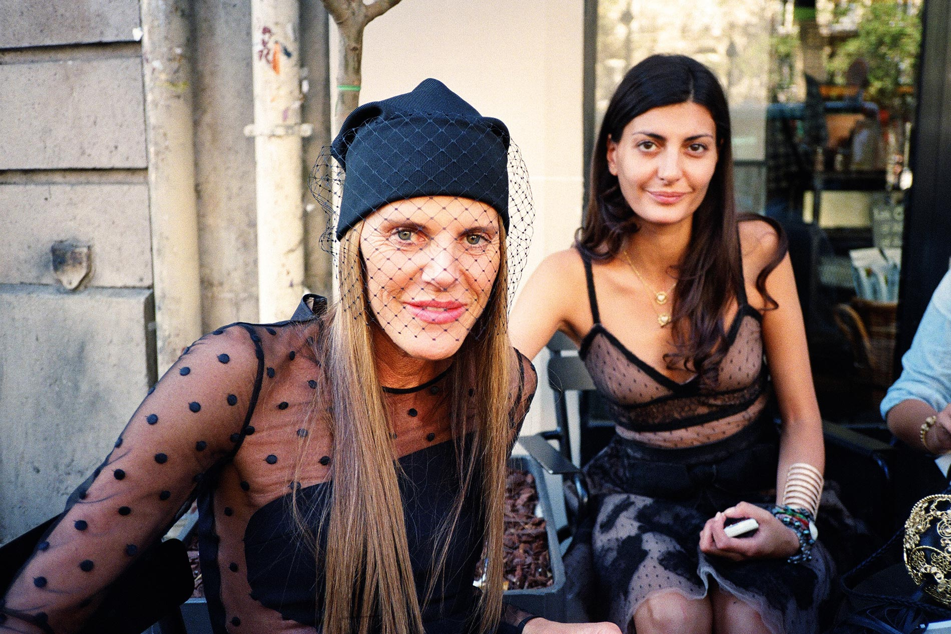 Anna Dello Russo, Giovanna Battalgia - Paris, October 2011