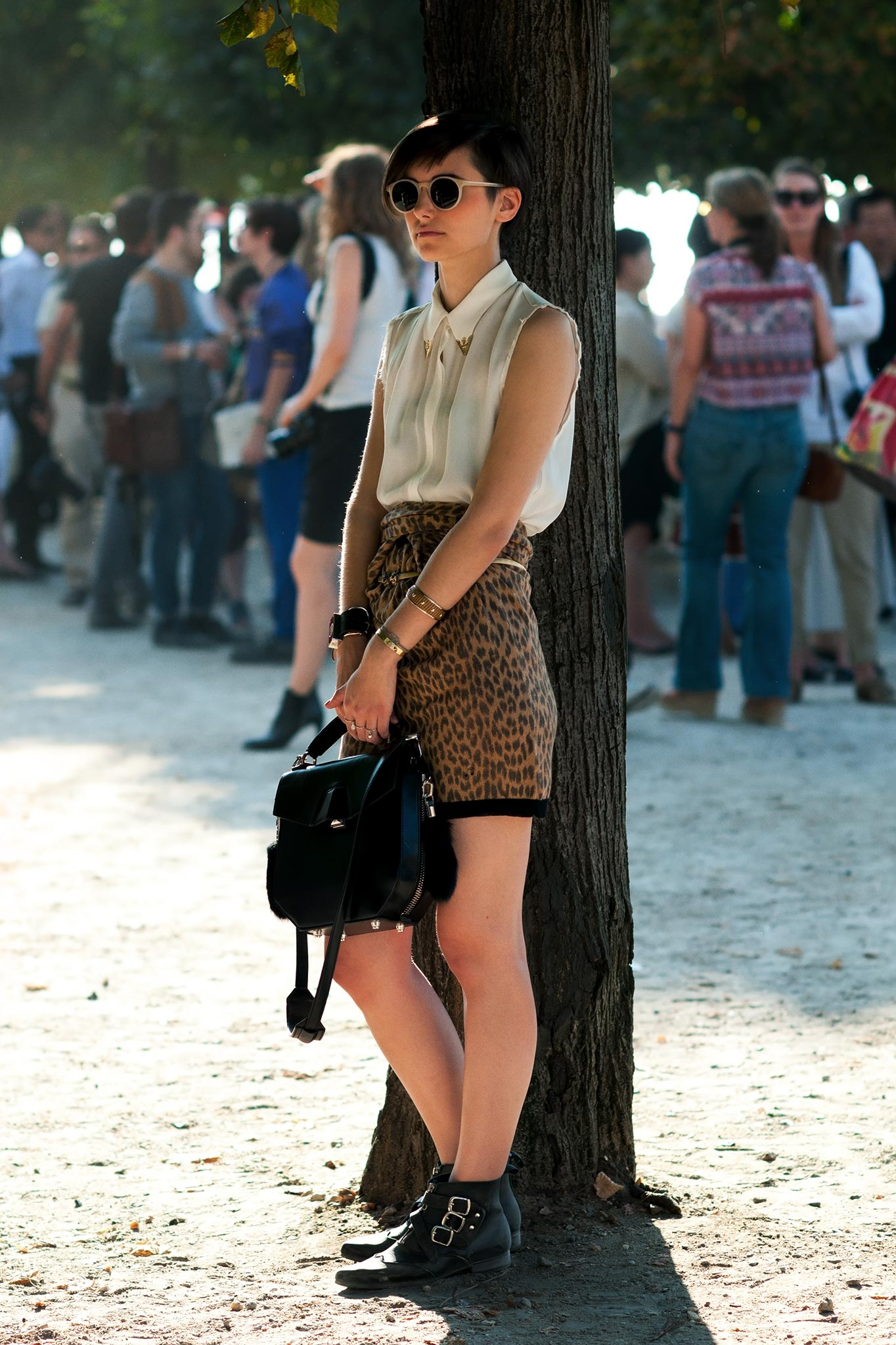 Anne-Catherine Frey at Paris Fashion Week Spring/Summer 2012