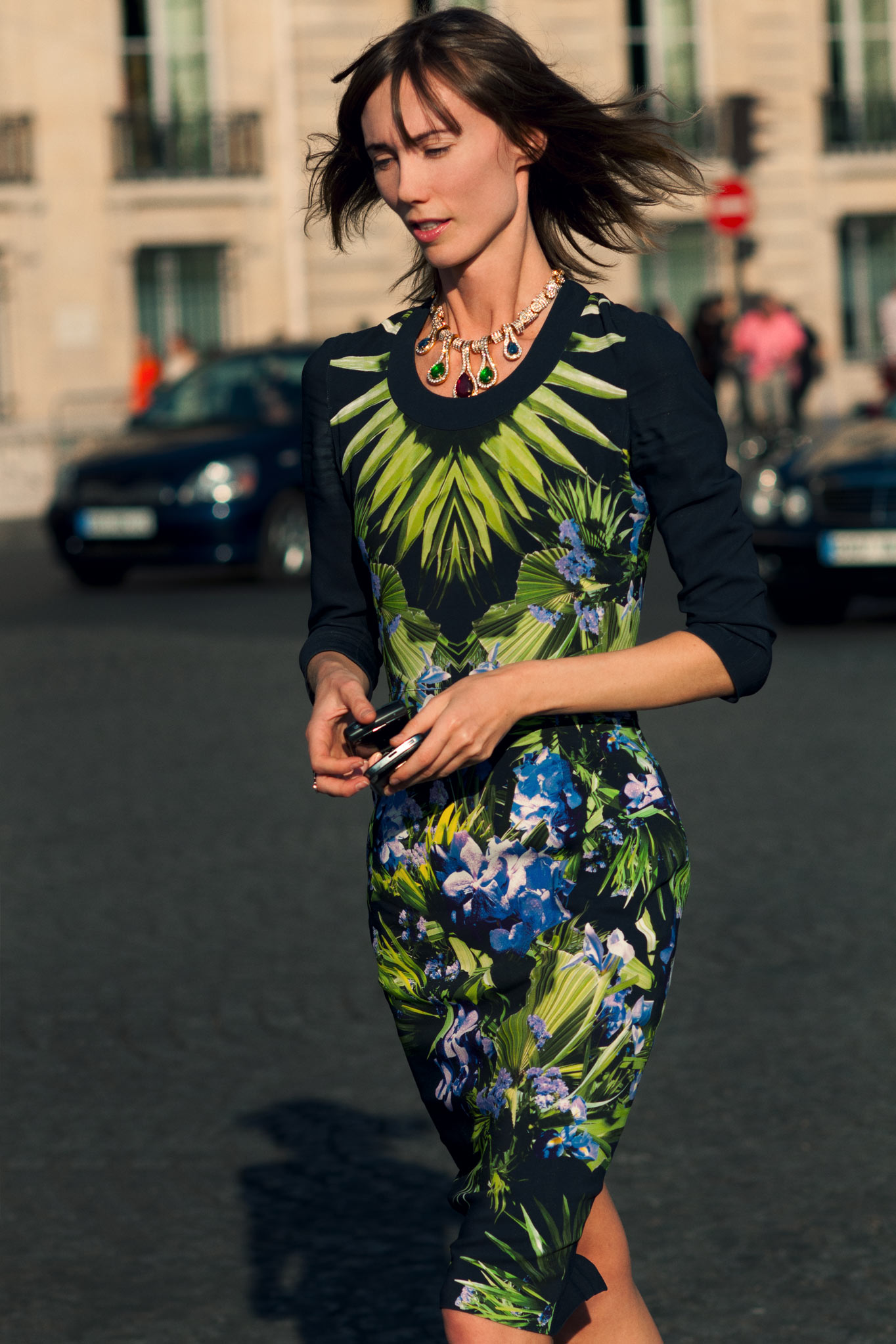 Anya Ziourova at Paris Fashion Week Spring/Summer 2012