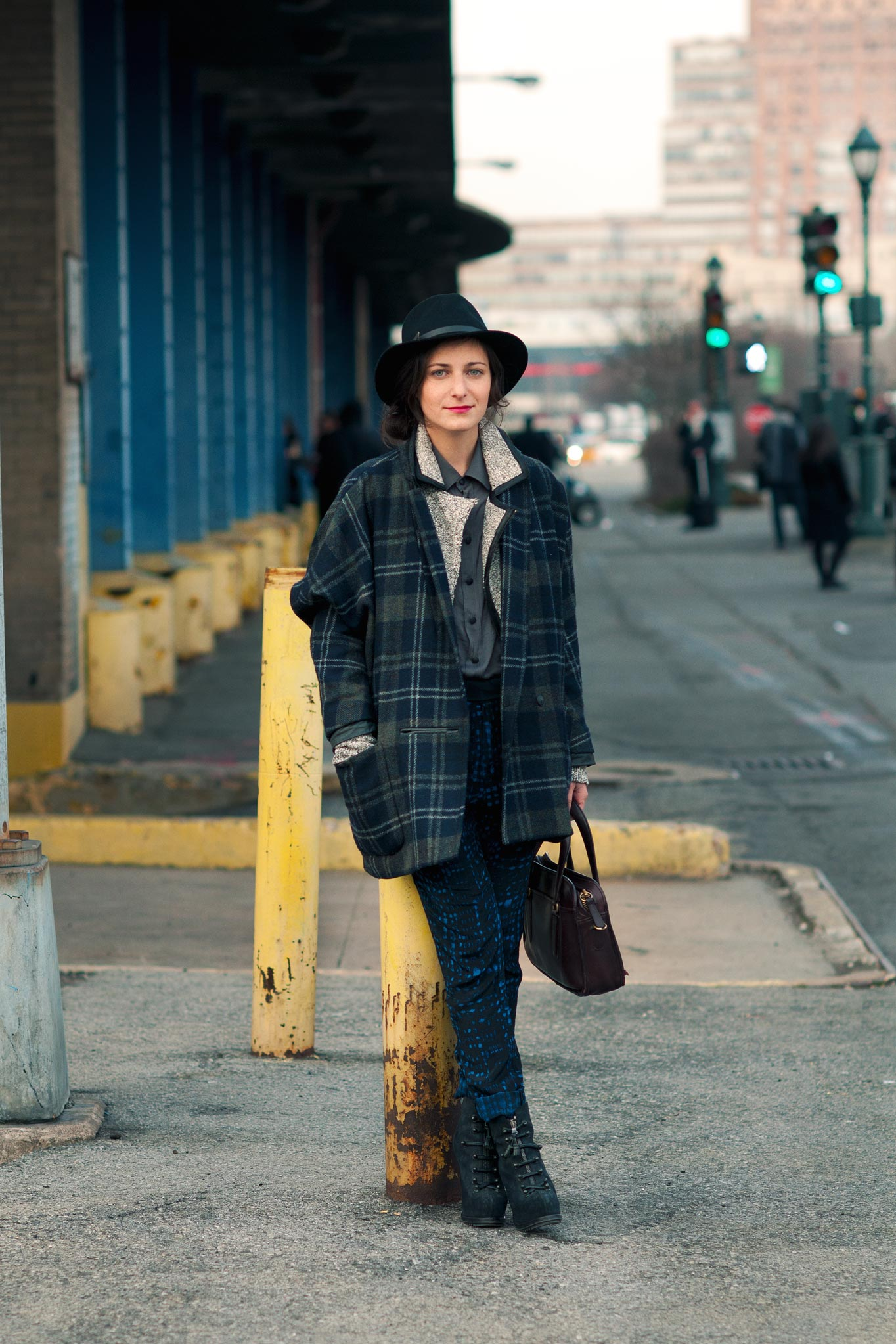 Nancy Rosenbloom at New York Fashion Week Fall/Winter 2014