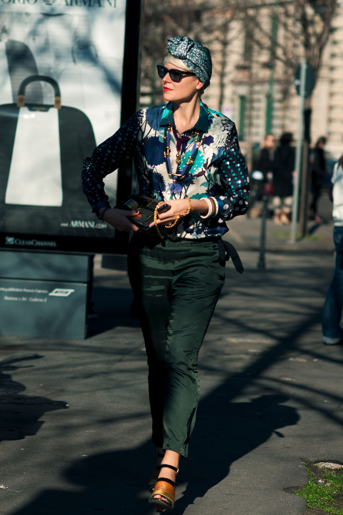 Elisa Nalin at Paris Fashion Week