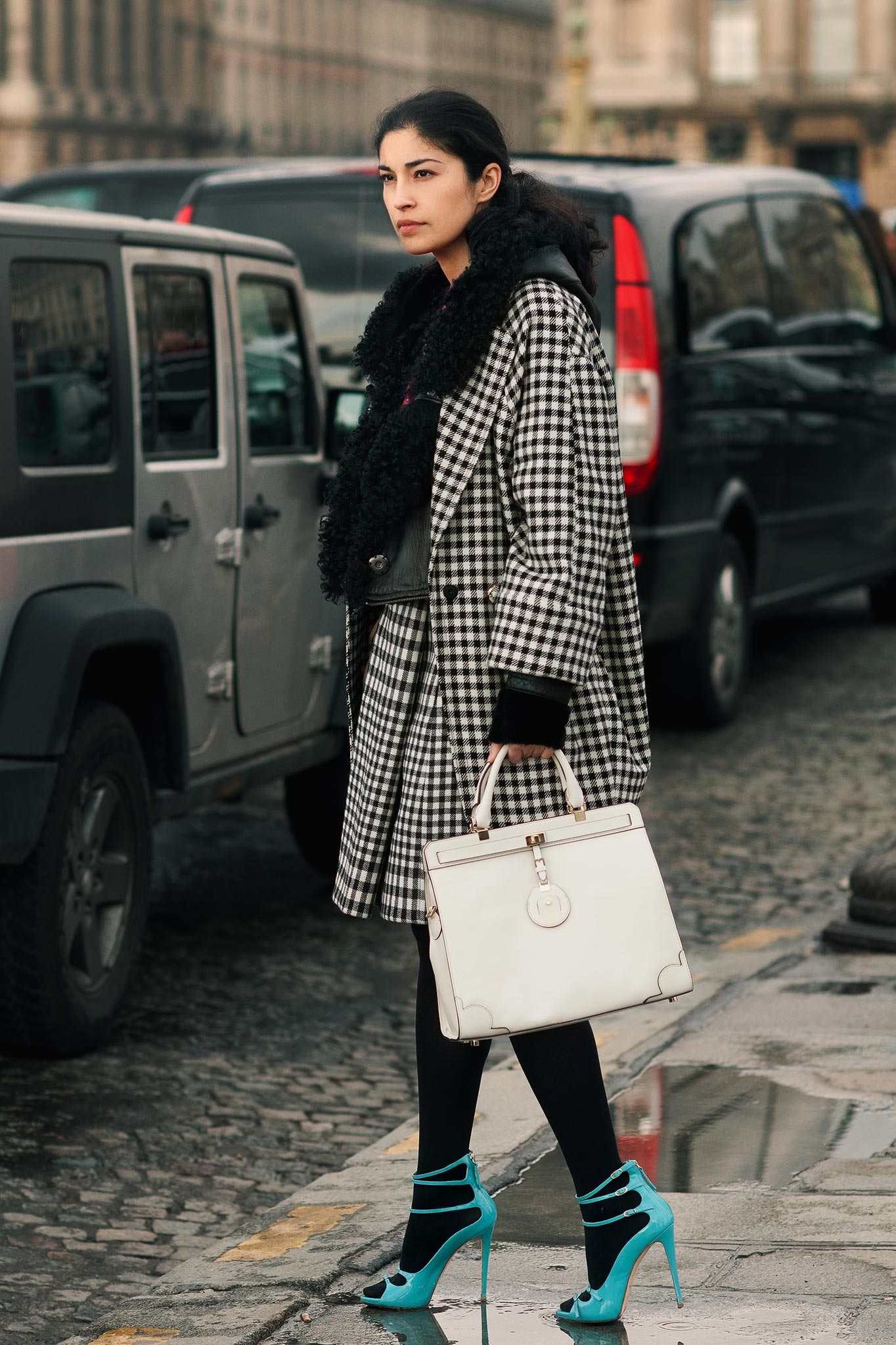 Caroline Issa at Paris Fashion Week Fall/Winter 2012
