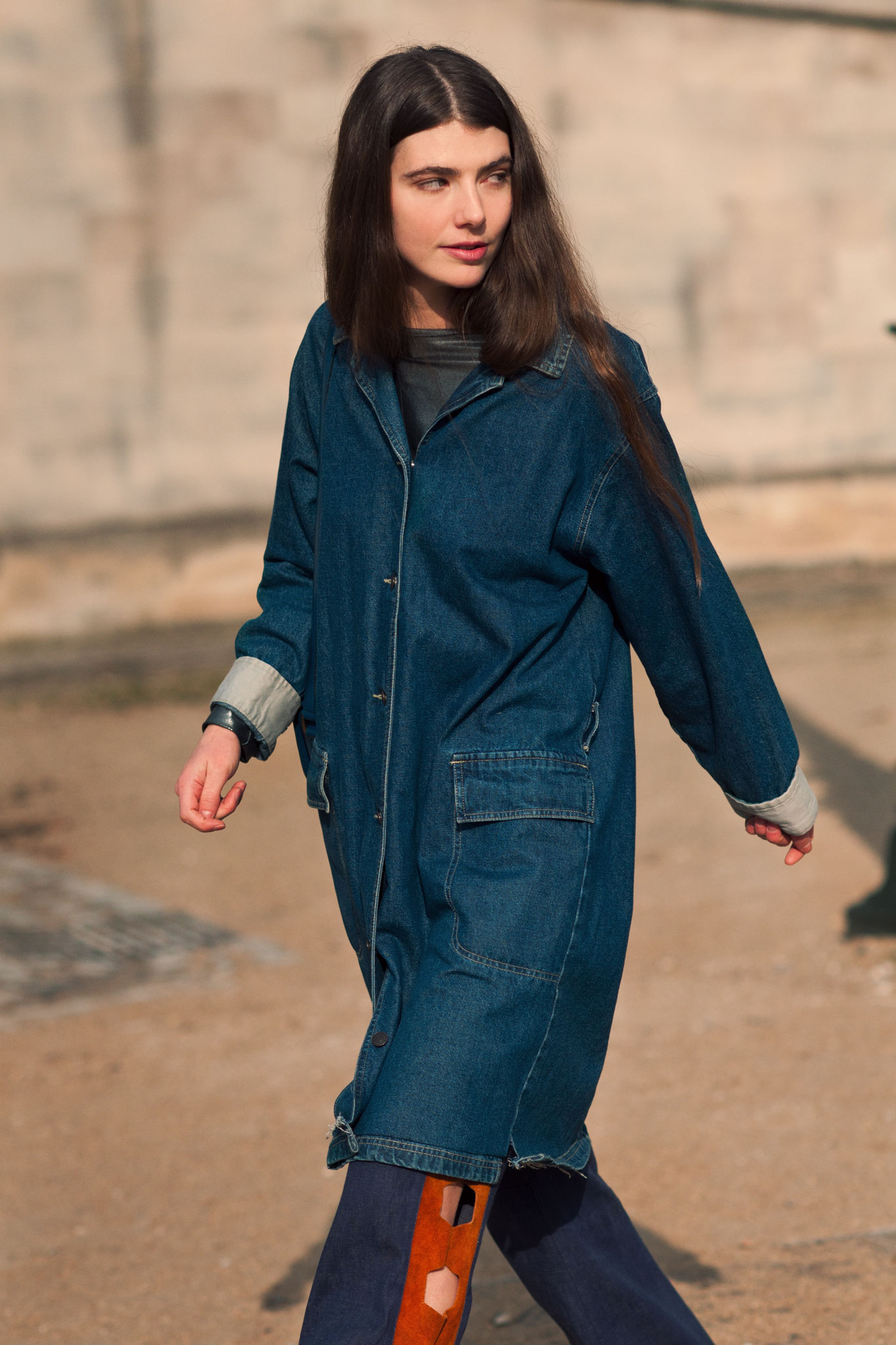 Ursina Gysi at Paris Fashion Week Fall/Winter 2012