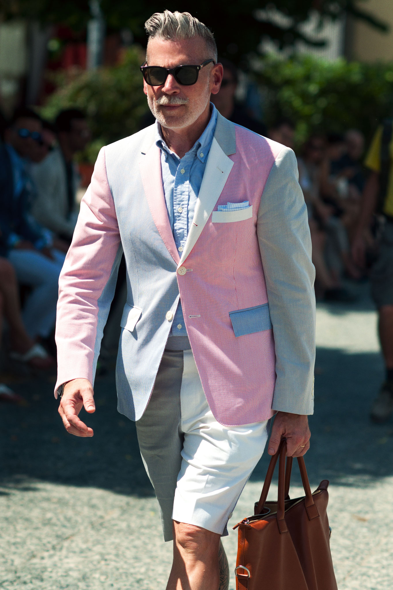Nickelson Wooster at Pitti Uomo 82