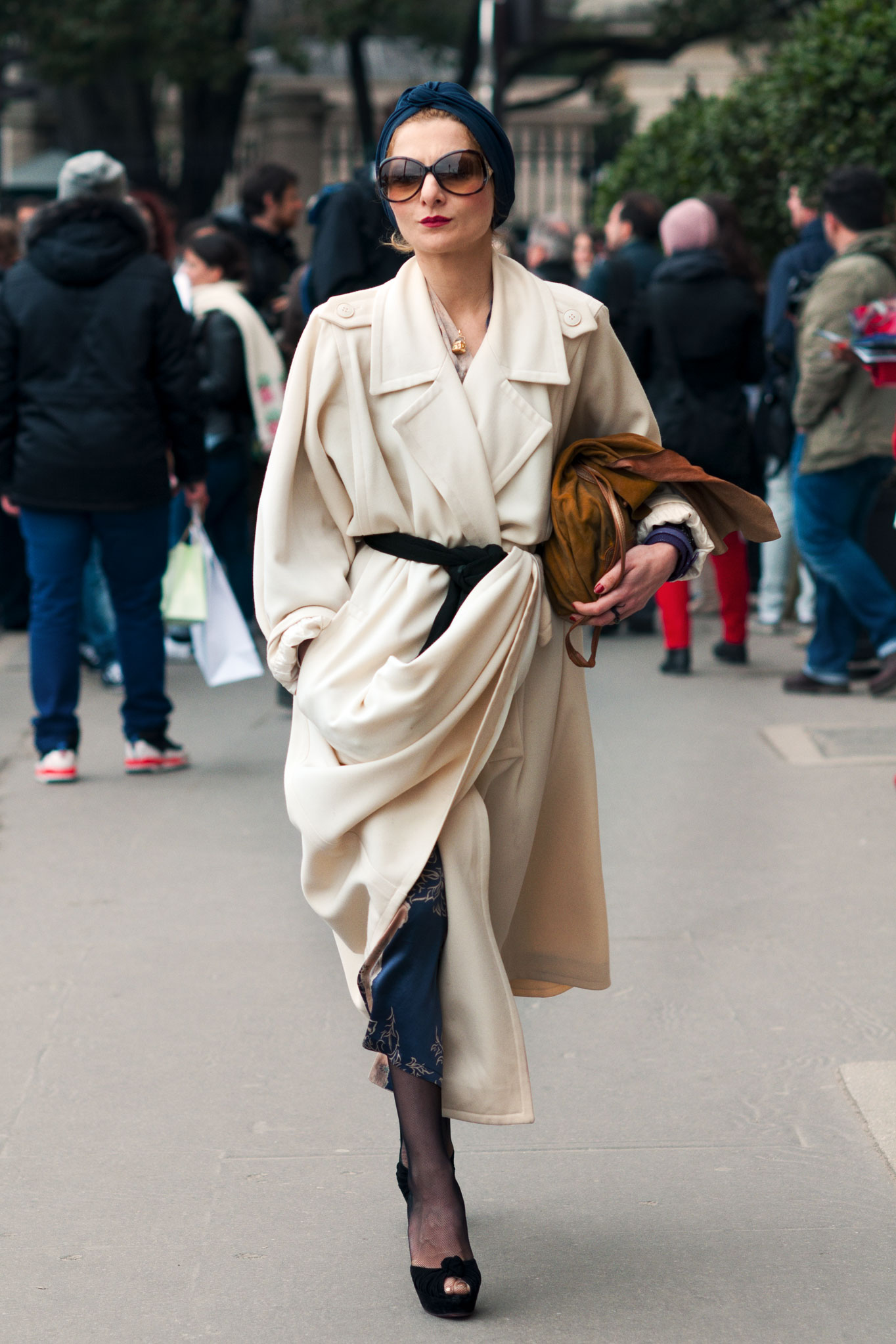 Catherine Baba at Paris Fashion Week Fall/Winter 2012