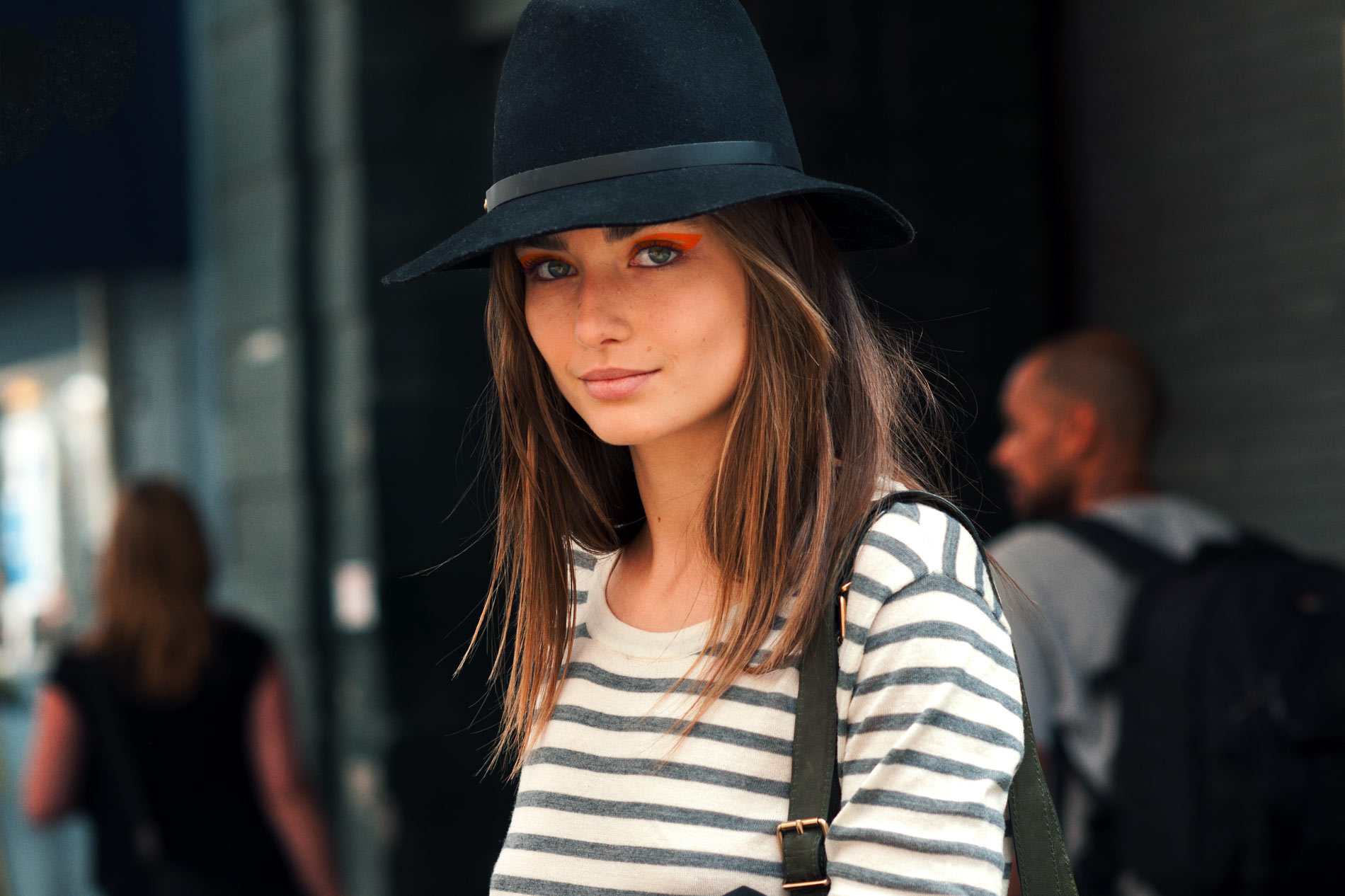 Andreea Diaconu at New York Fashion Week Spring/Summer 2013