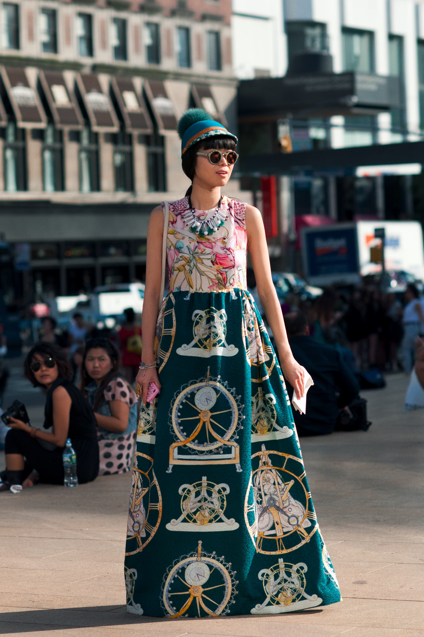 Leaf Greener at New York Fashion Week Spring/Summer 2013