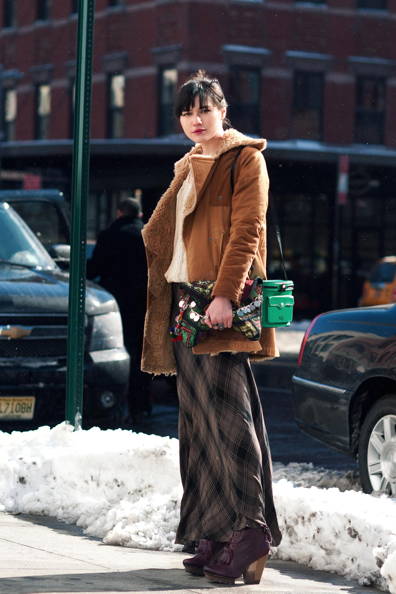 Natalie Suarez at New York Fashion Week Fall/Winter 2013