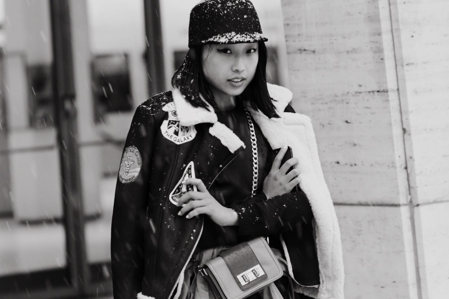Margaret Zhang at New York Fashion Week Fall/Winter