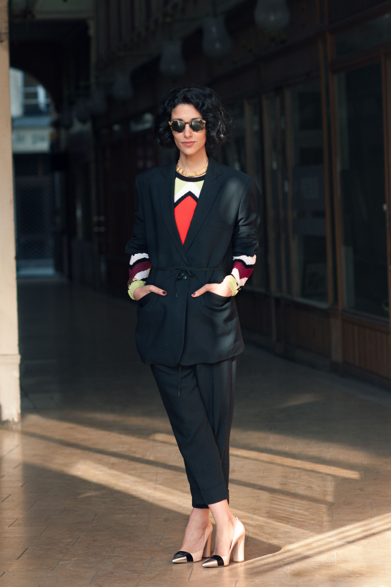 Yasmin Sewell at Paris Fashion Week