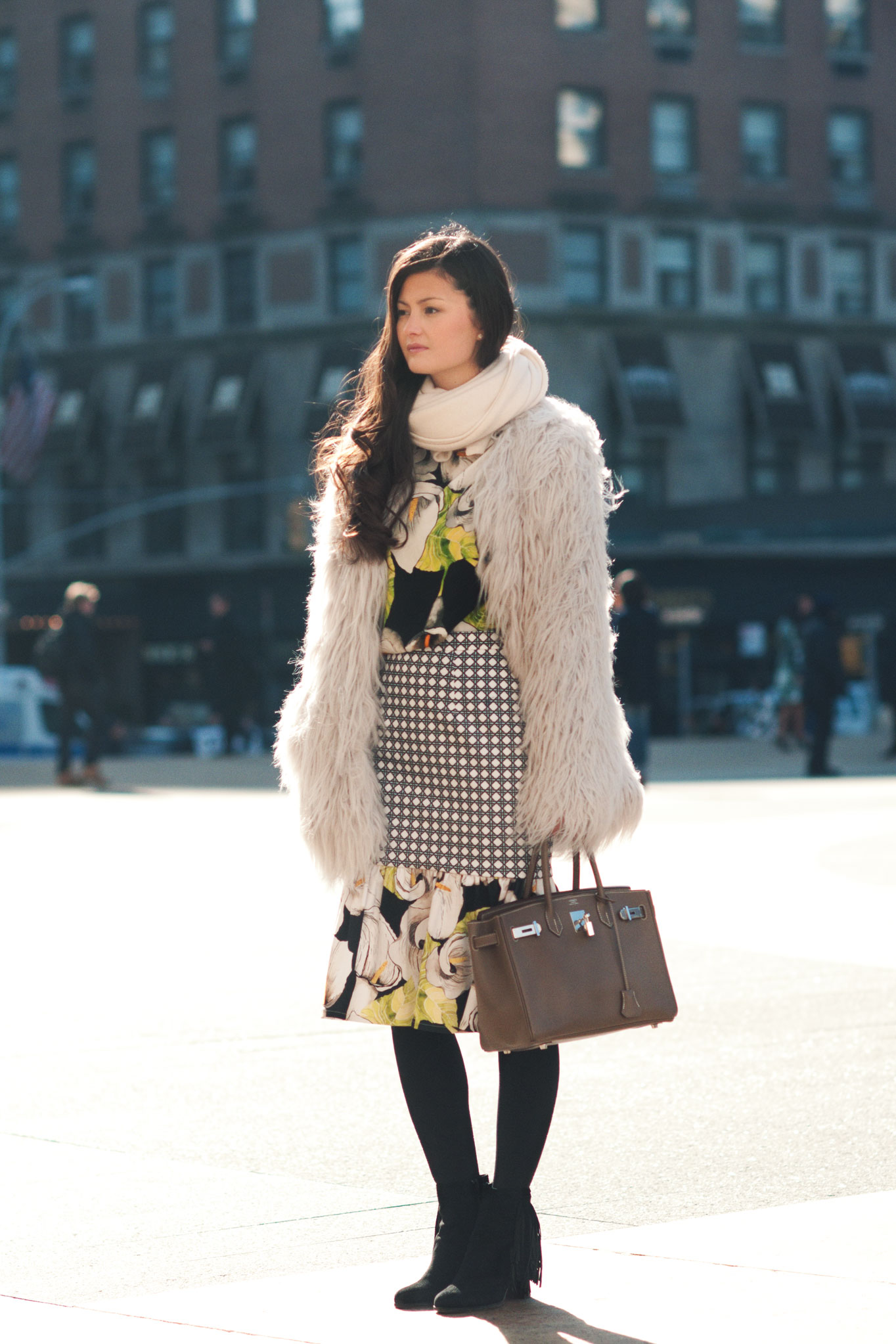 Peony Lim at New York Fashion Week Fall/Winter 2013
