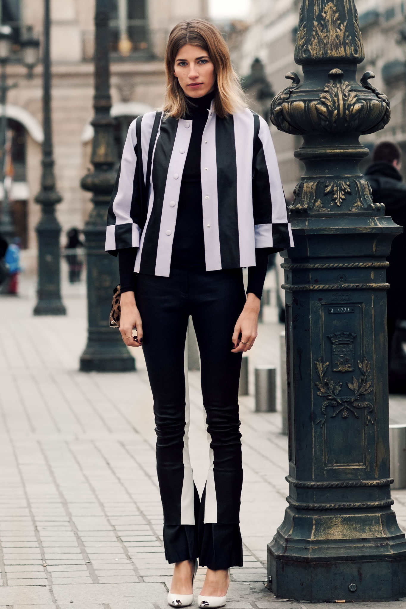 Veronica Heilbrunner at Paris Fashion Week