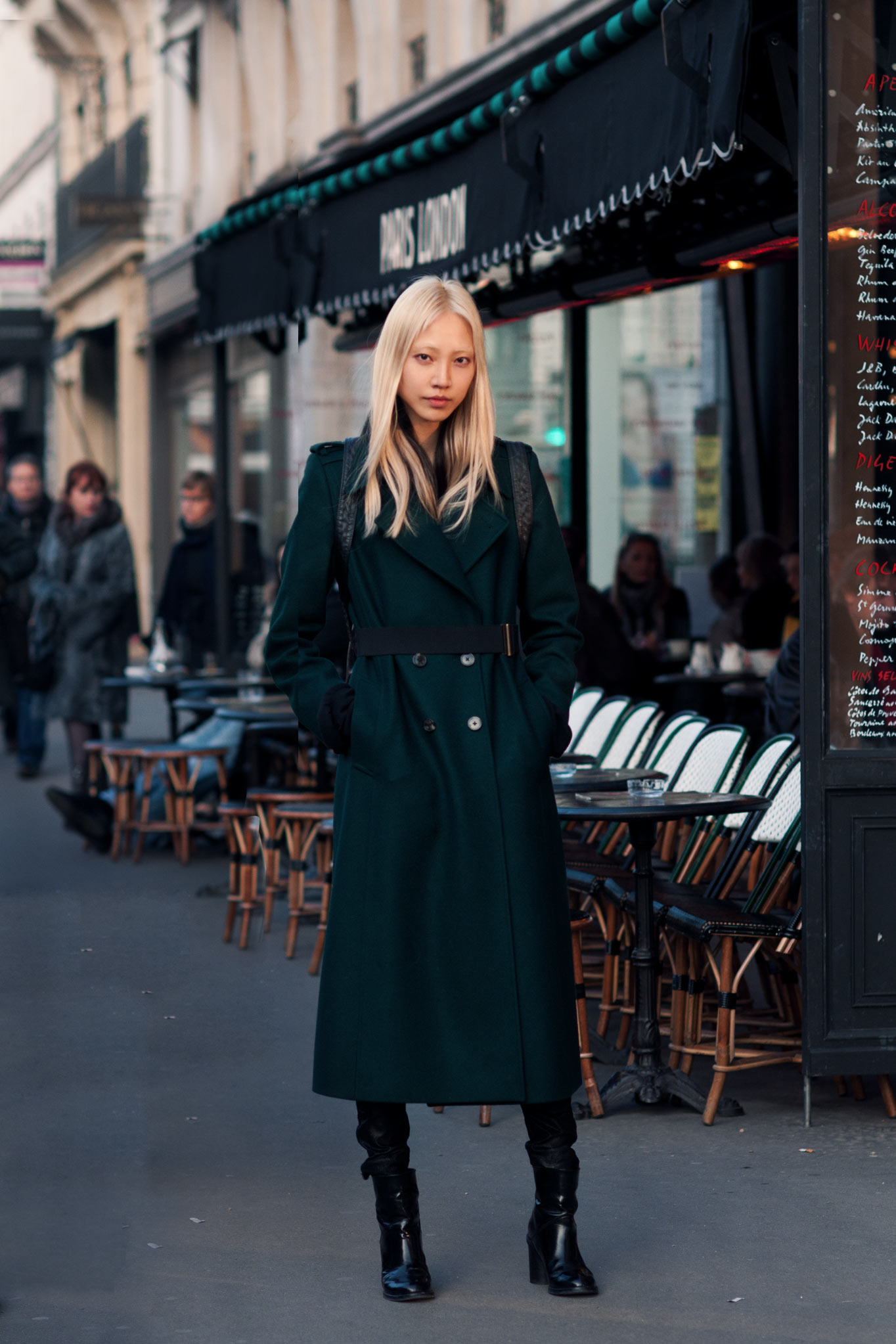 Soo Joo Park at Paris Fashion Week Fall/Winter