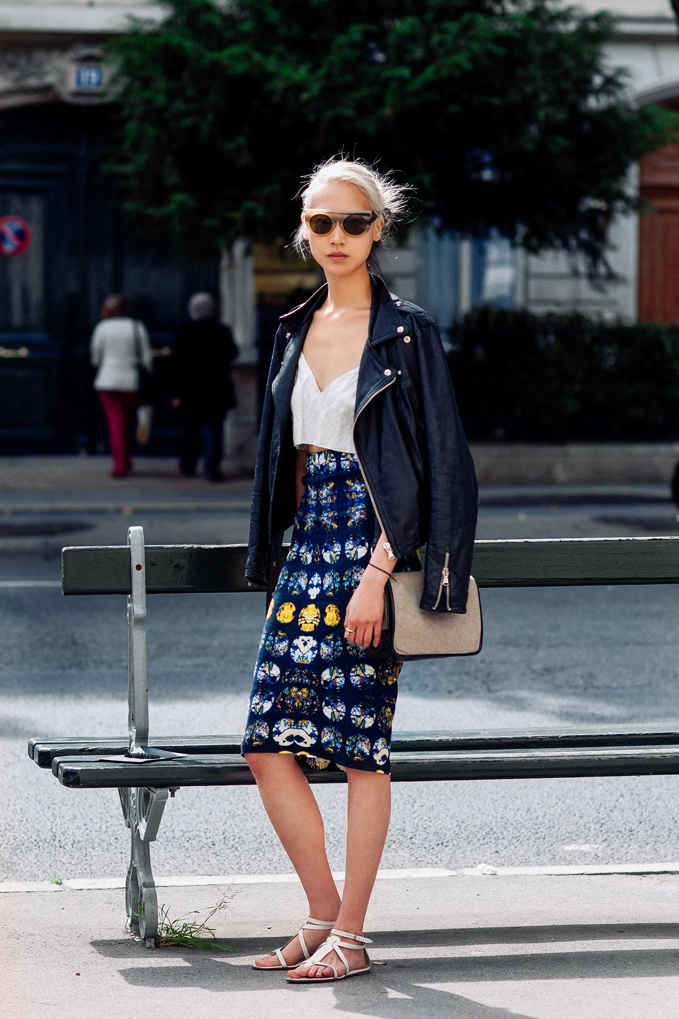Soo Joo Park at Paris Fashion Week