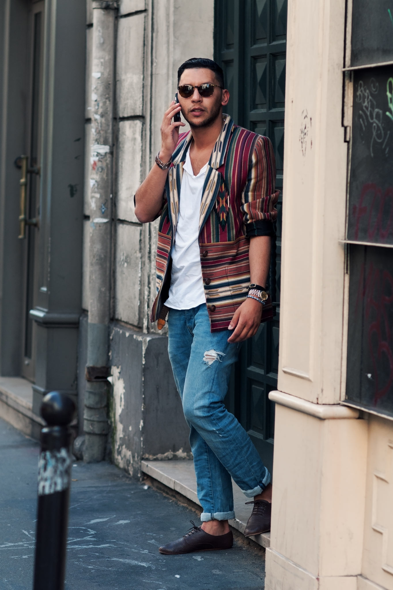 Mo Anwar at Paris Men's Fashion Week Spring/Summer 2014