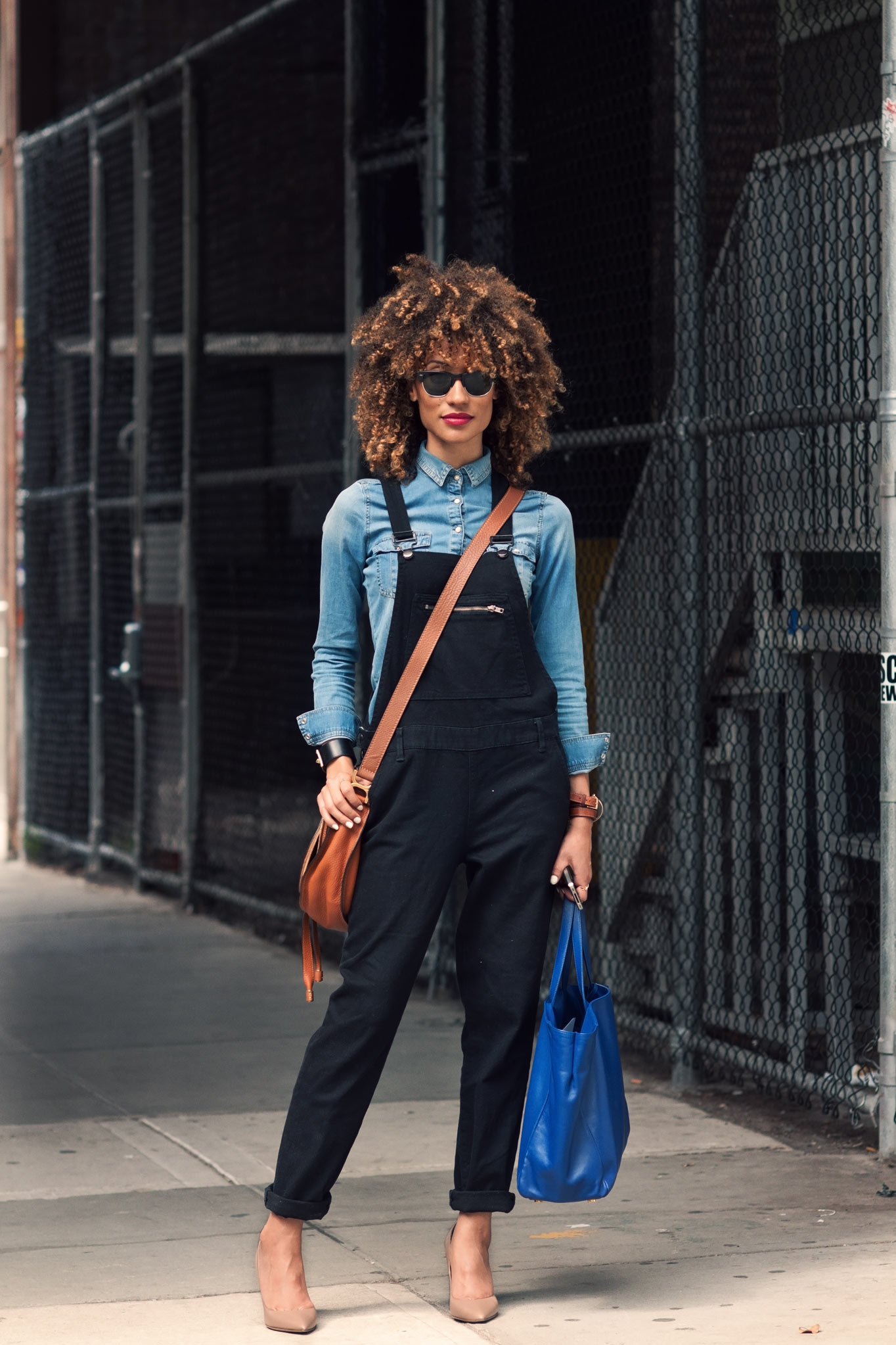 Elaine Welteroth at New York Fashion Week Spring/Summer 2014