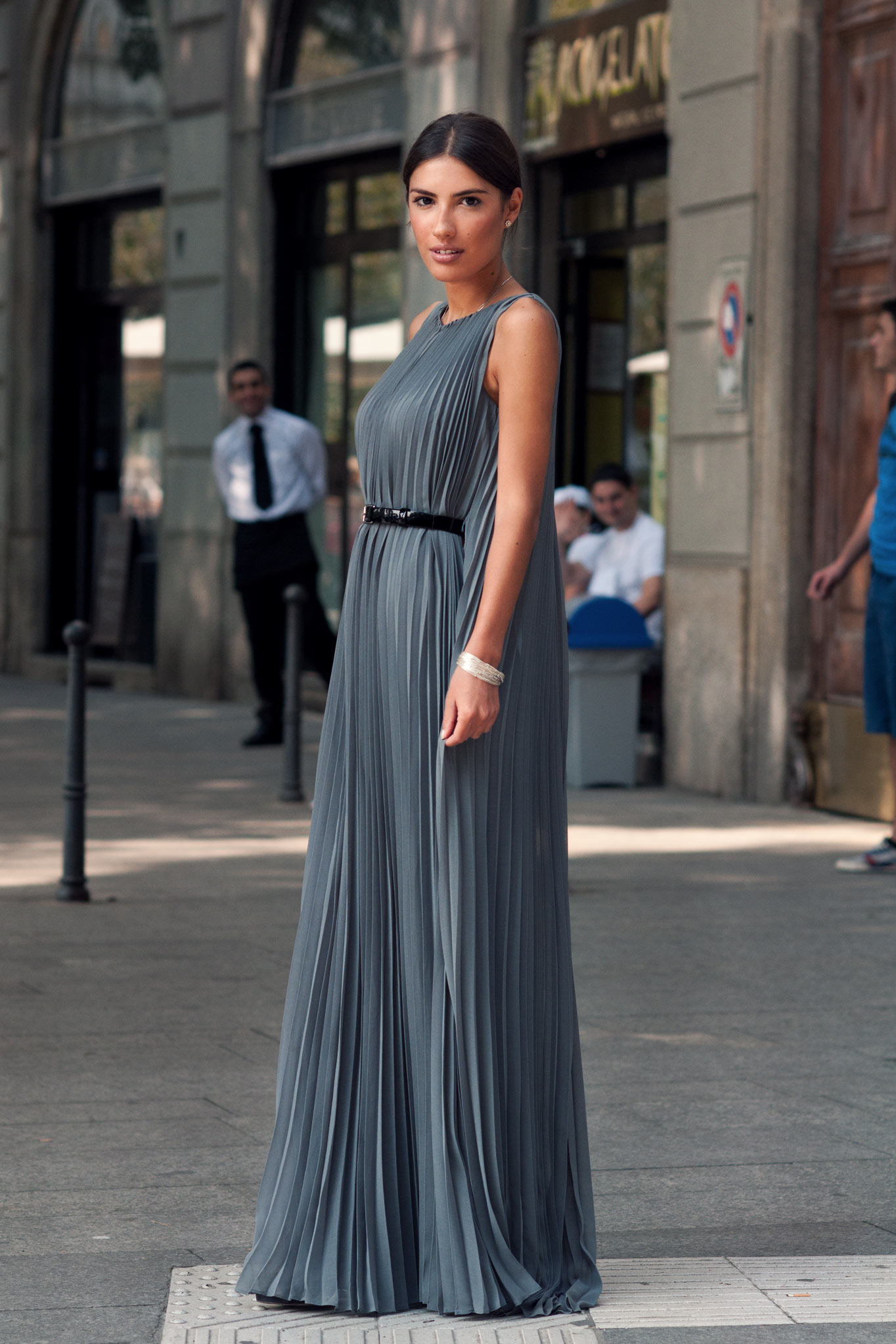 Patricia Manfield at Milan Fashion Week Spring/Summer 2014