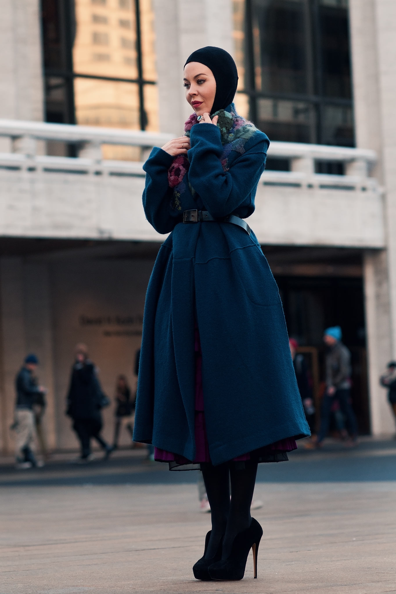 Ulyana Sergeenko at New York Fashion Week Fall/Winter 2013