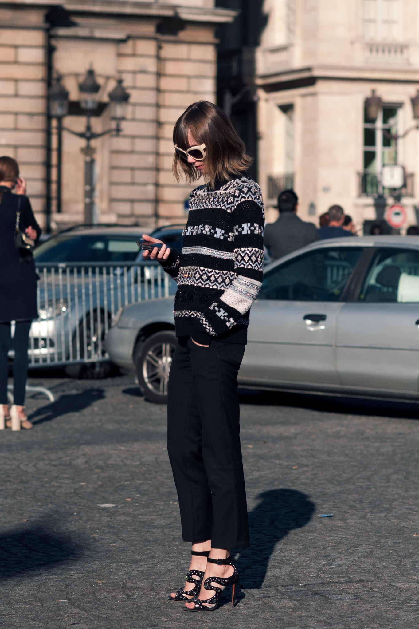 Anya Ziourova at Paris Fashion Week Fall/Winter 2013
