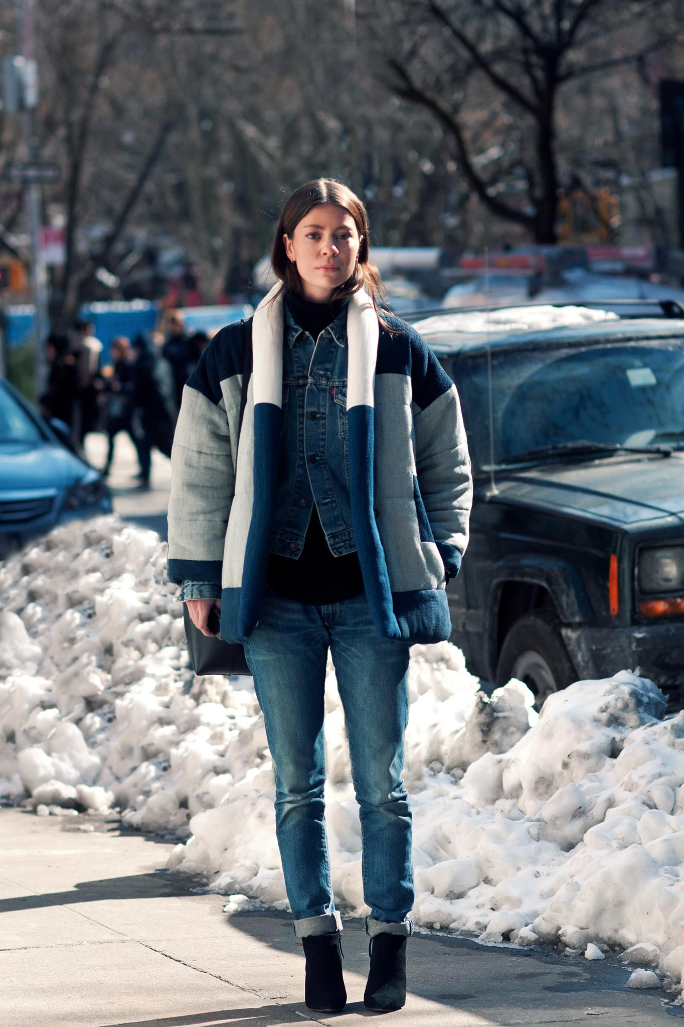 Annina Mislin at New York Fashion Week Fall/Winter 2014
