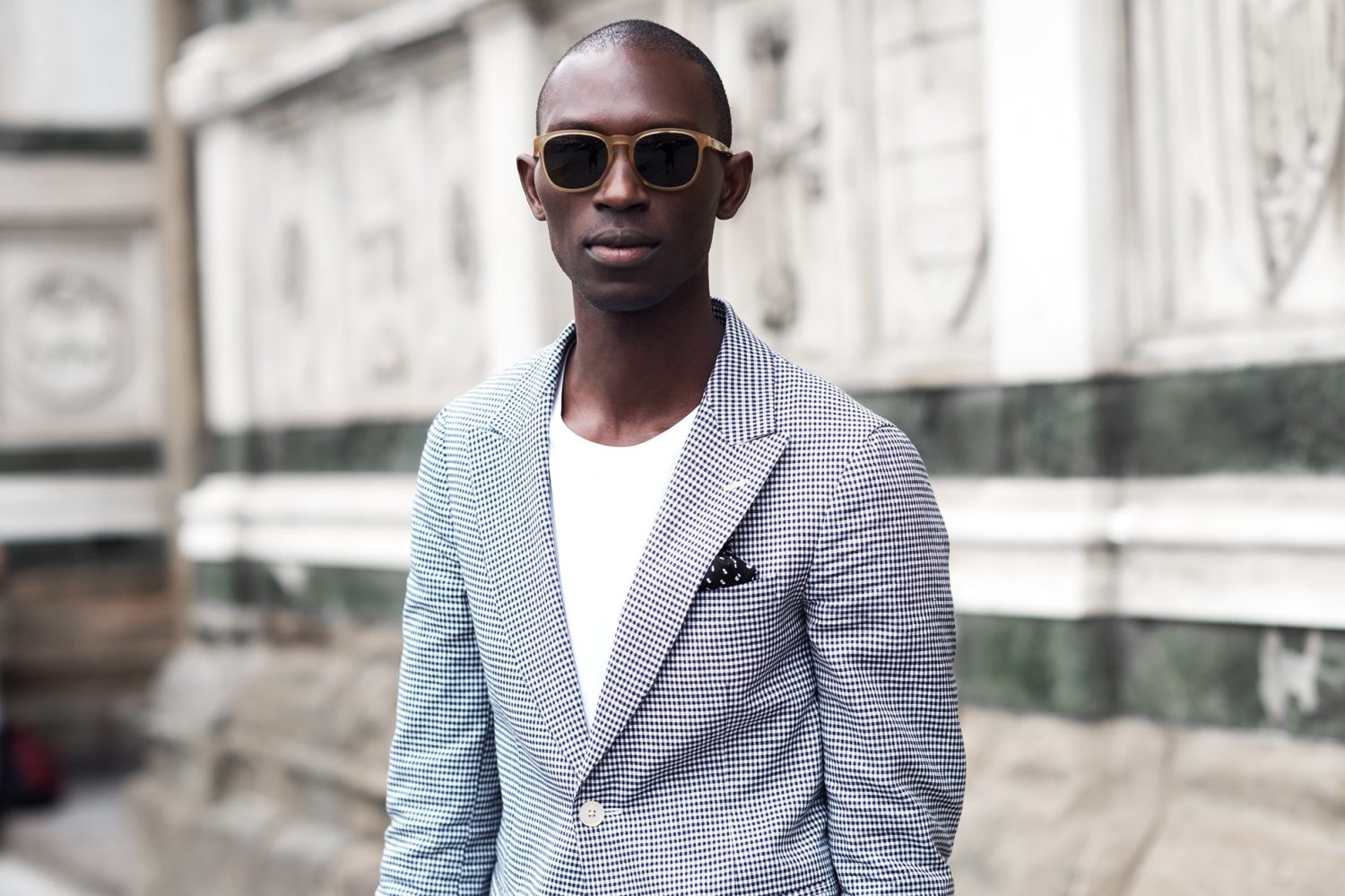 Armando Cabral at Pitti Uomo 86