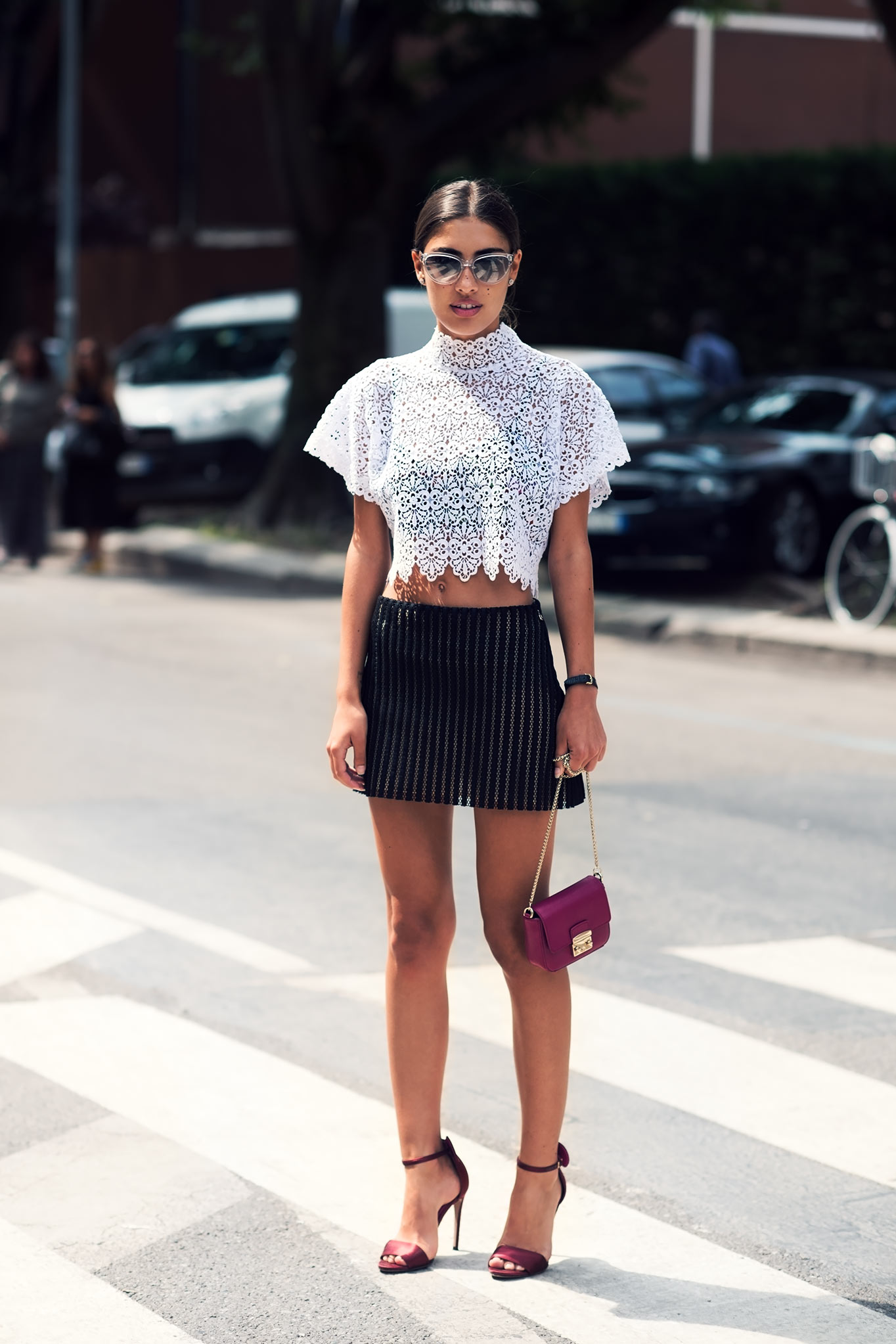 Patricia Manfield at Milan Men's Fashion Week Spring/Summer 2015