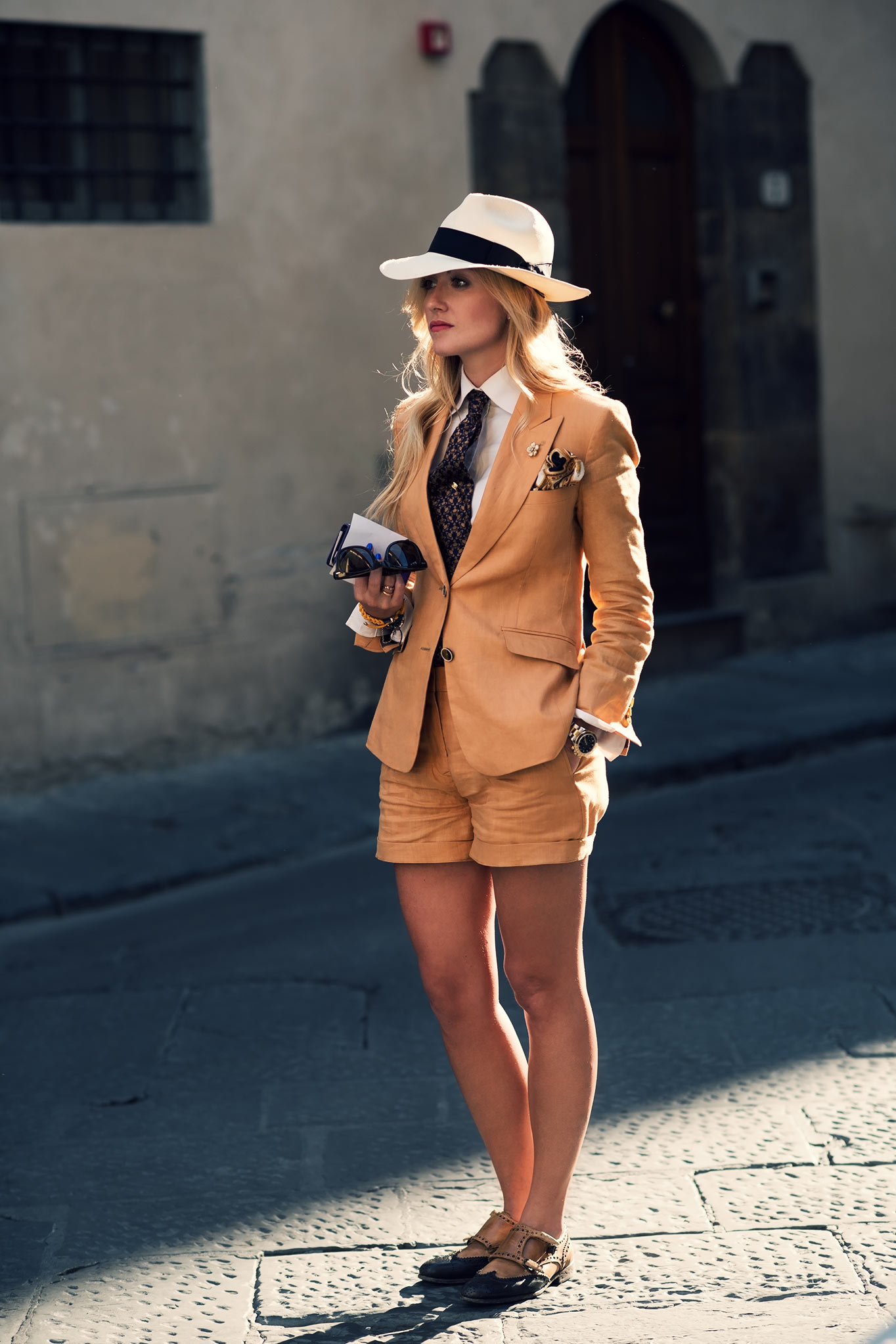 Sarah Ann Murray at Pitti Uomo