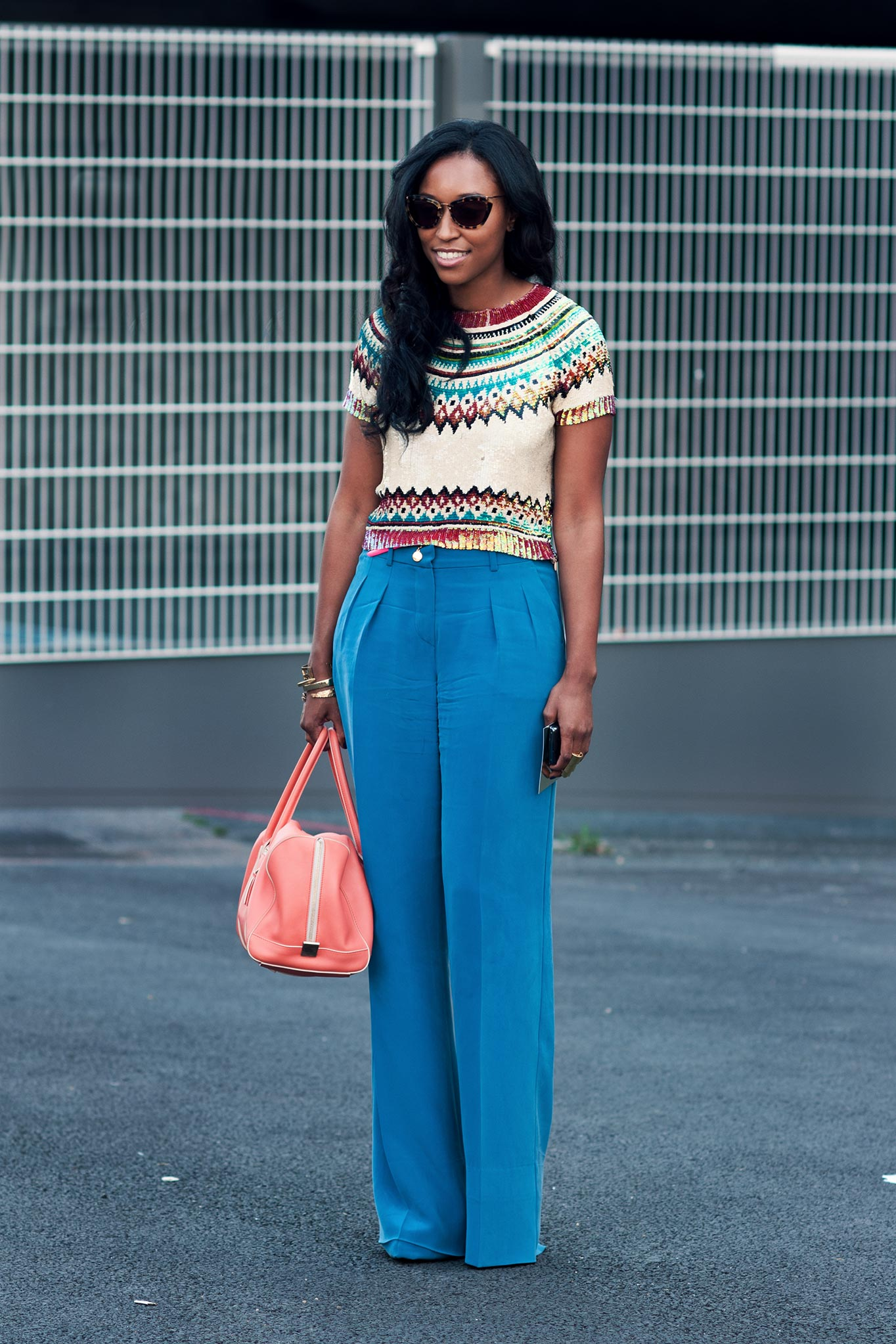 Shiona Turini at Paris Fashion Week Spring/Summer 2012