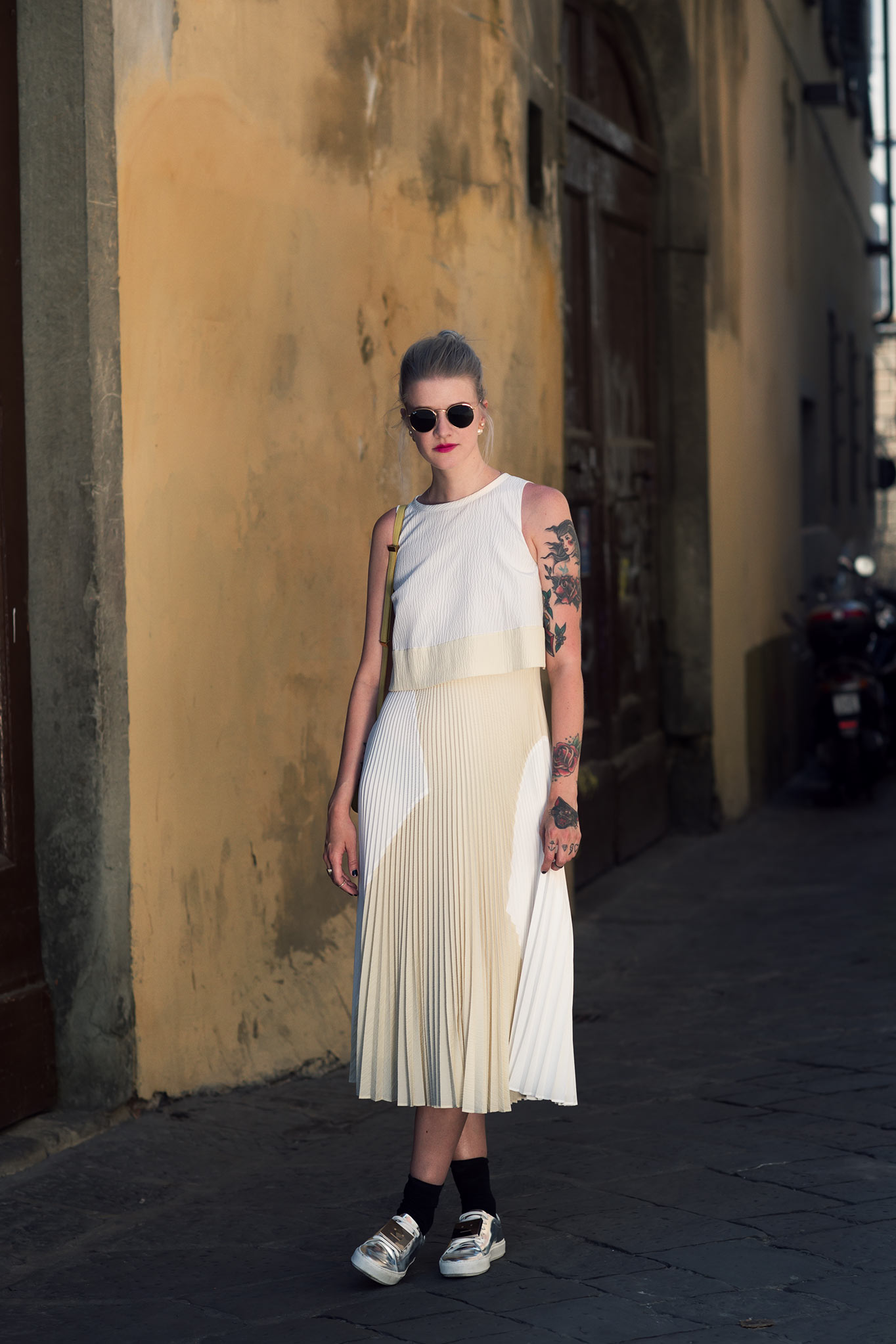 Marianne Theodorsen at Pitti Uomo 86