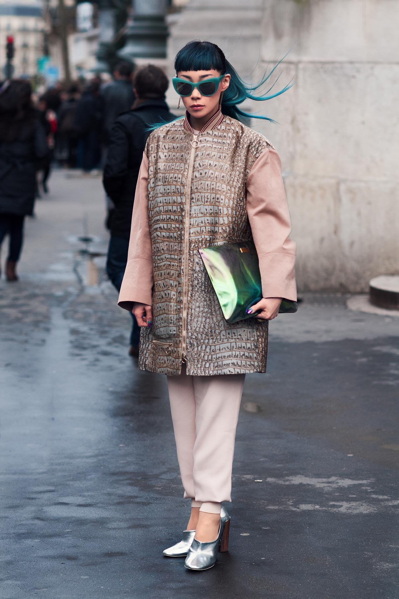 Mademoiselle Yulia at Paris Fashion Week