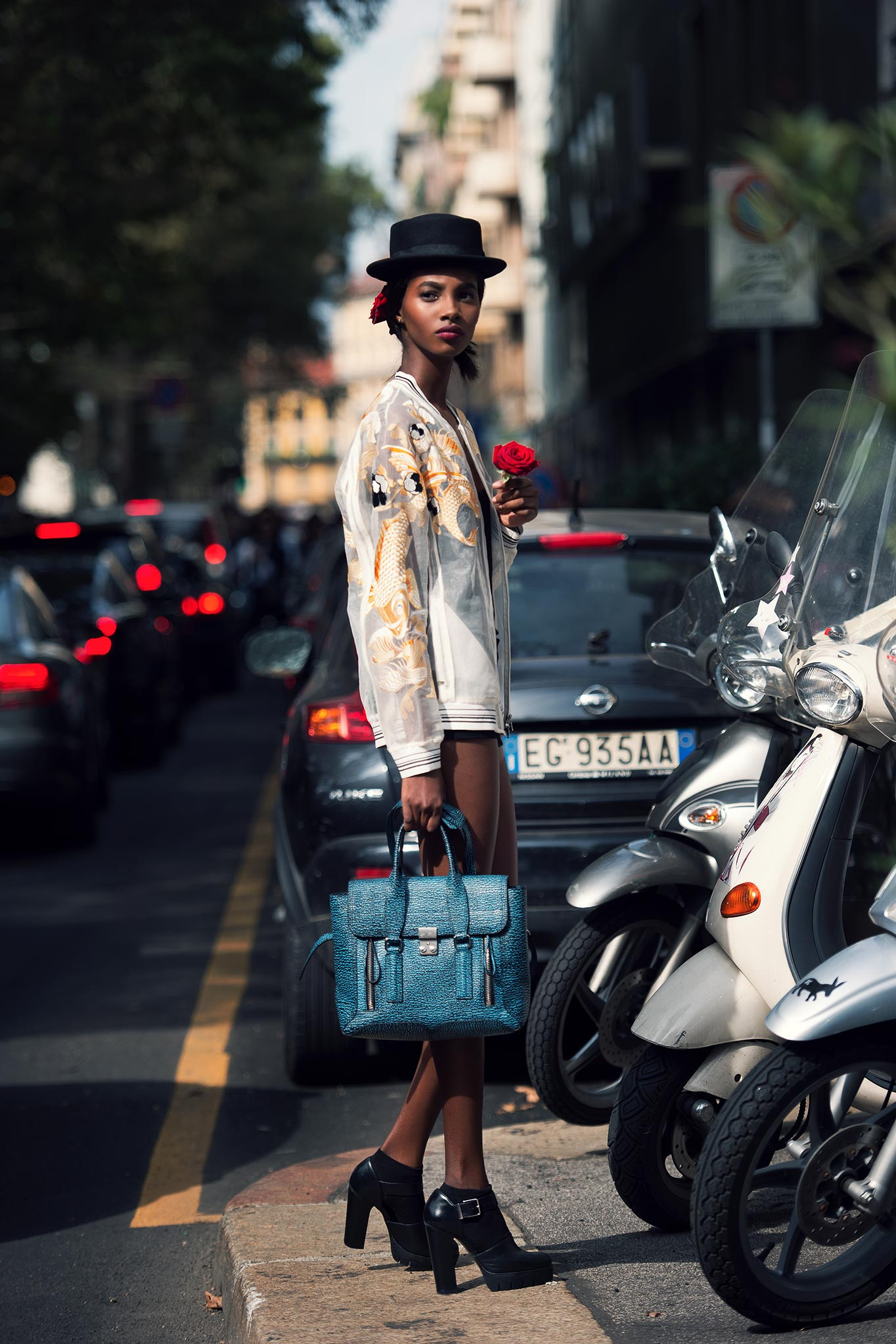 Tami Williams at Milan Fashion Week Spring/Summer 2015