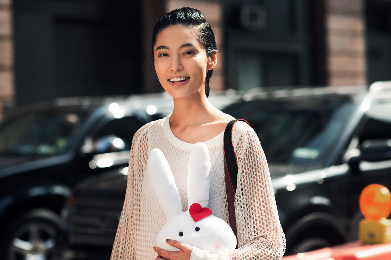Bonnie Chen at New York Fashion Week Spring/Summer 2015