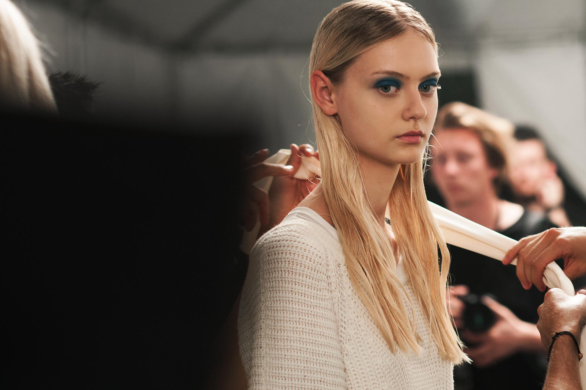 Backstage at Marc by Marc Jacobs S/S14 @ NYFW S/S14 - New York, September 2013
