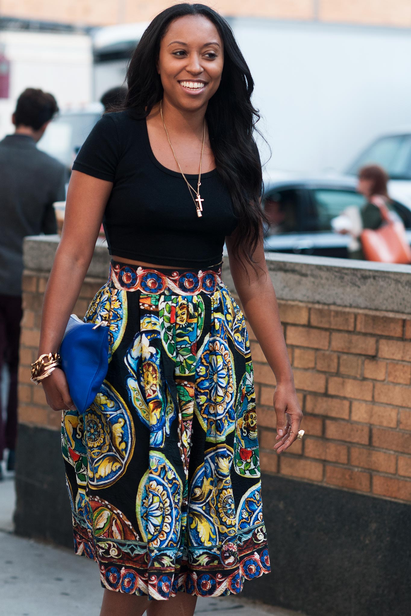 Shiona Turini at New York Fashion Week Spring/Summer 2014