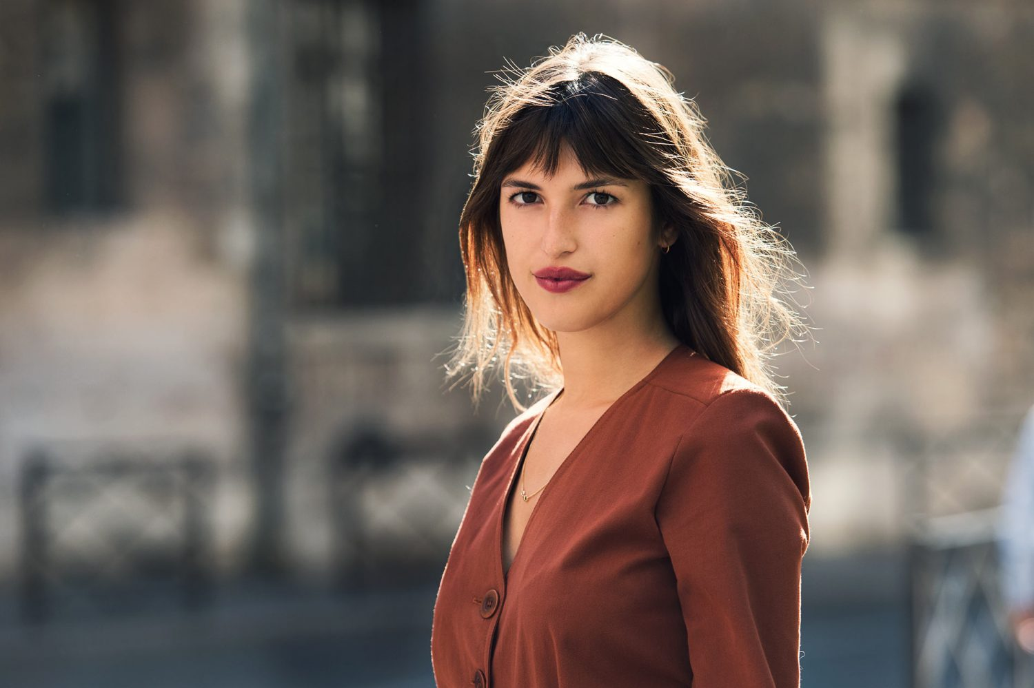 Jeanne Damas at Paris Fashion Week Spring/Summer 2015