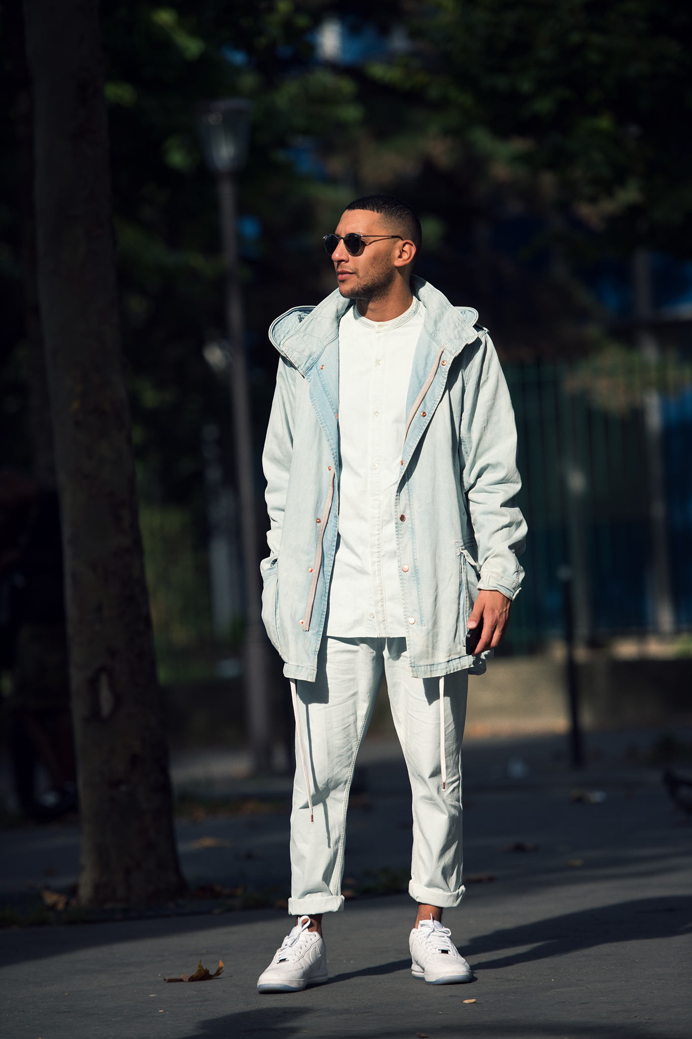 Mo Anwar at Paris Fashion Week Spring/Summer 2015