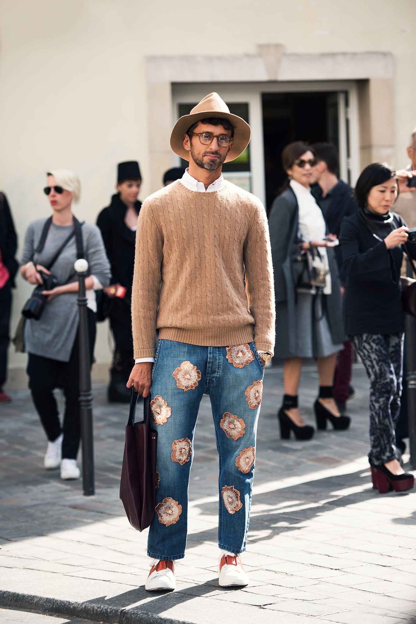 Simone Marchetti at Paris Fashion Week Spring/Summer 2015