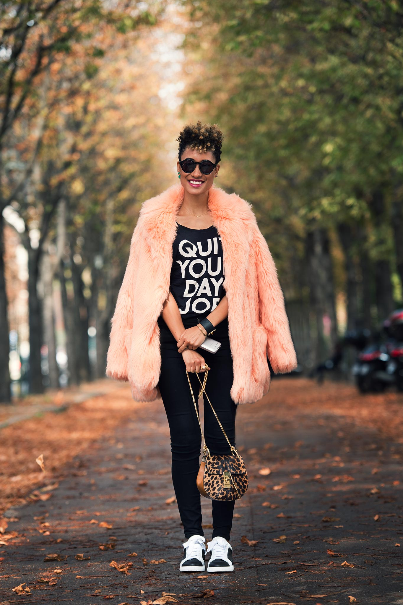 Elaine Welteroth at Paris Fashion Week Spring/Summer 2015