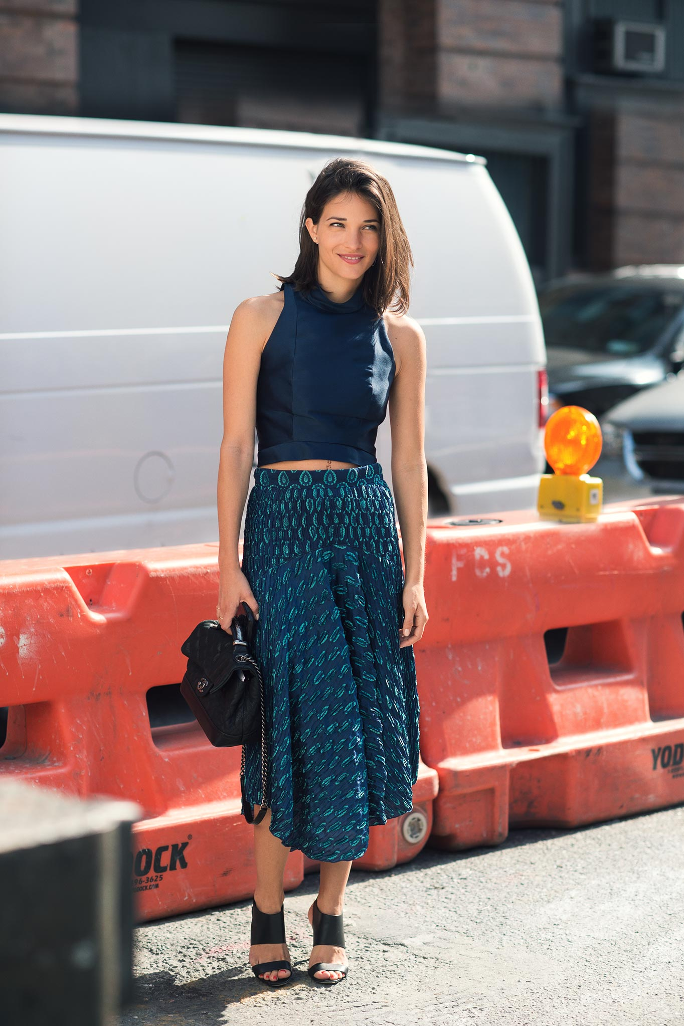 Maria Dueñas Jacobs at New York Fashion Week Spring/Summer 2015