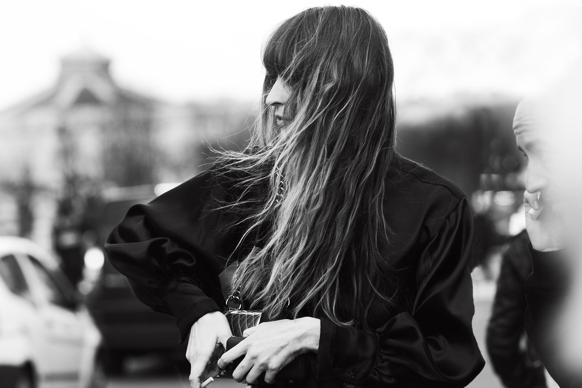 Caroline de Maigret at Paris Fashion Week Fall/Winter 2014
