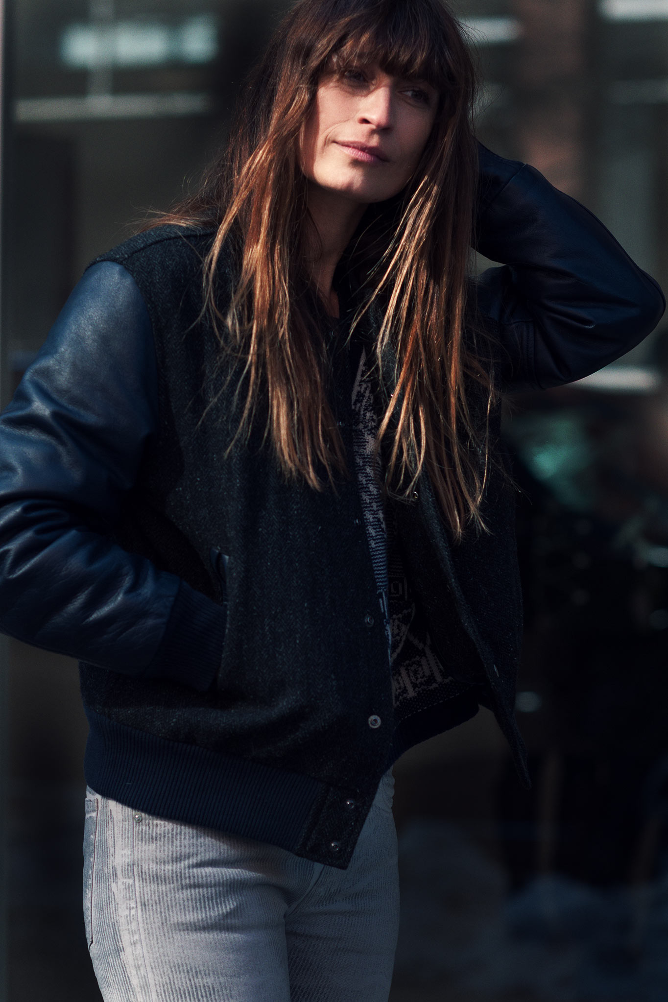 Caroline de Maigret at New York Fashion Week Fall/Winter 2014