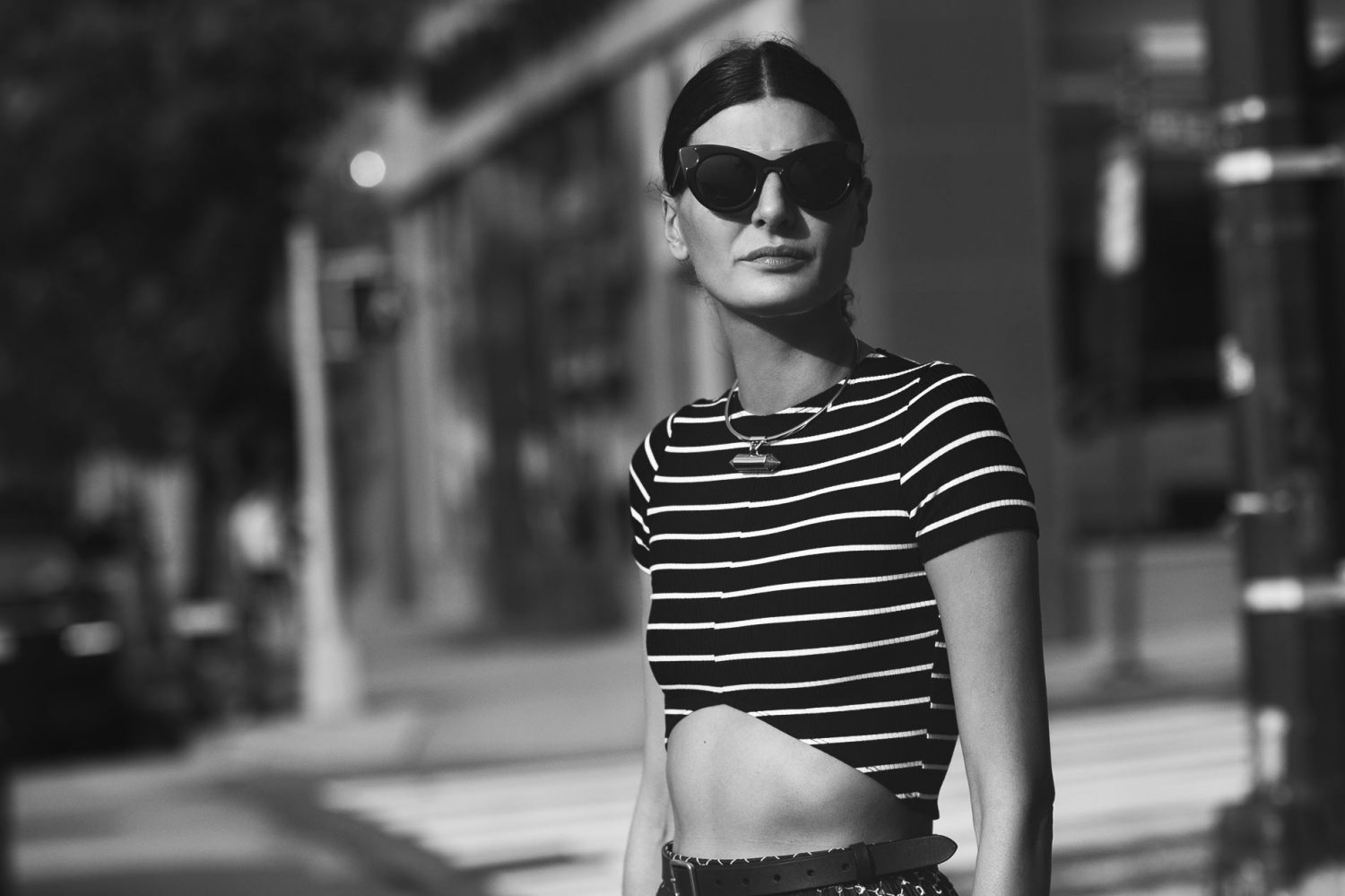 Giovanna Battaglia at New York Fashion Week Spring/Summer 2015