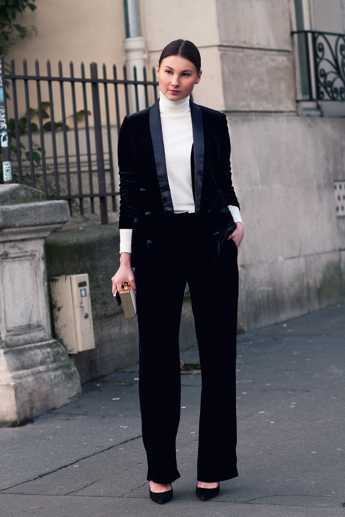 Angelica Ardasheva at Paris Fashion Week Spring/Summer 2015